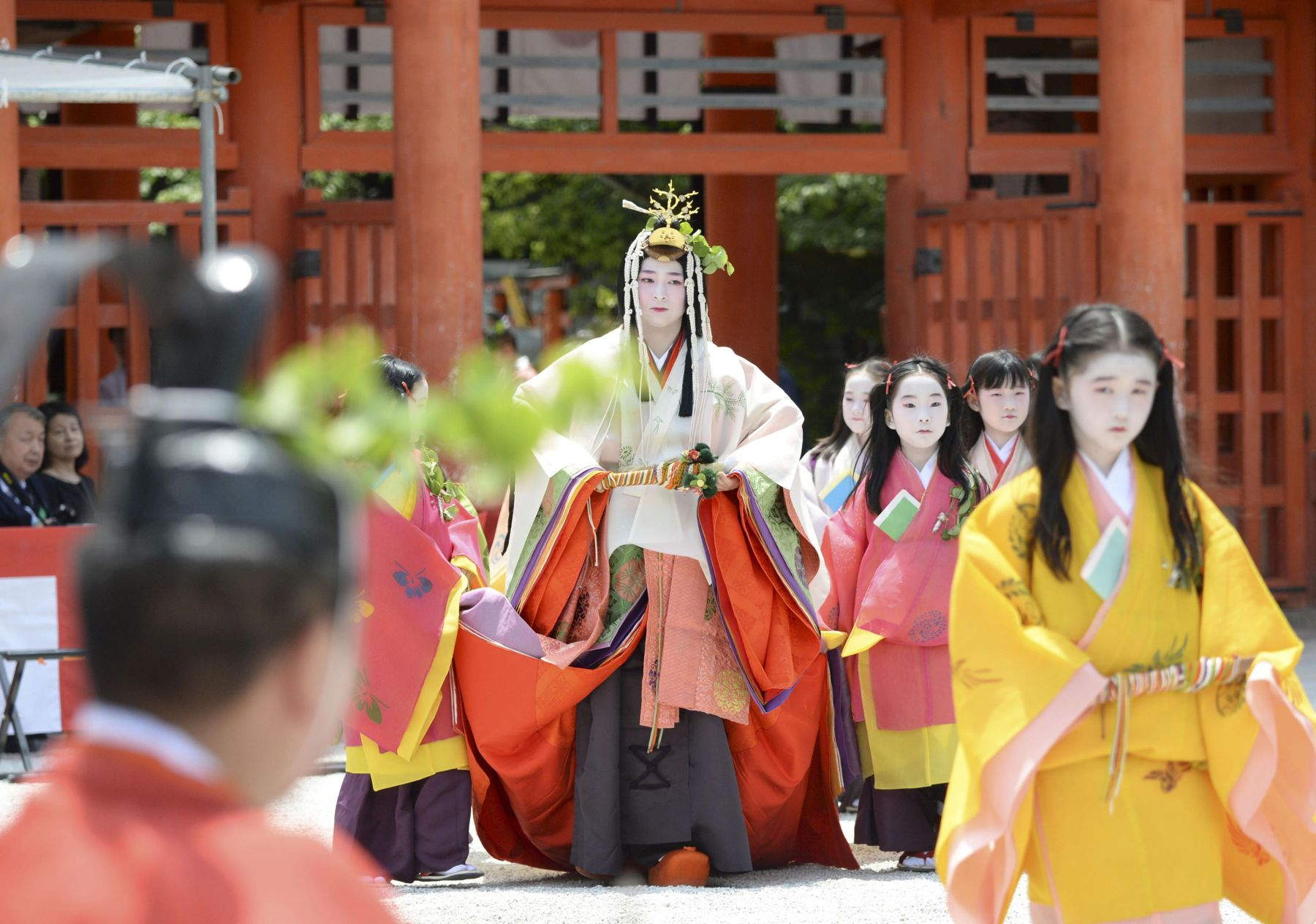 Kyoto's Colorful Traditions on Display at First Aoi Matsuri of Reiwa Era 024