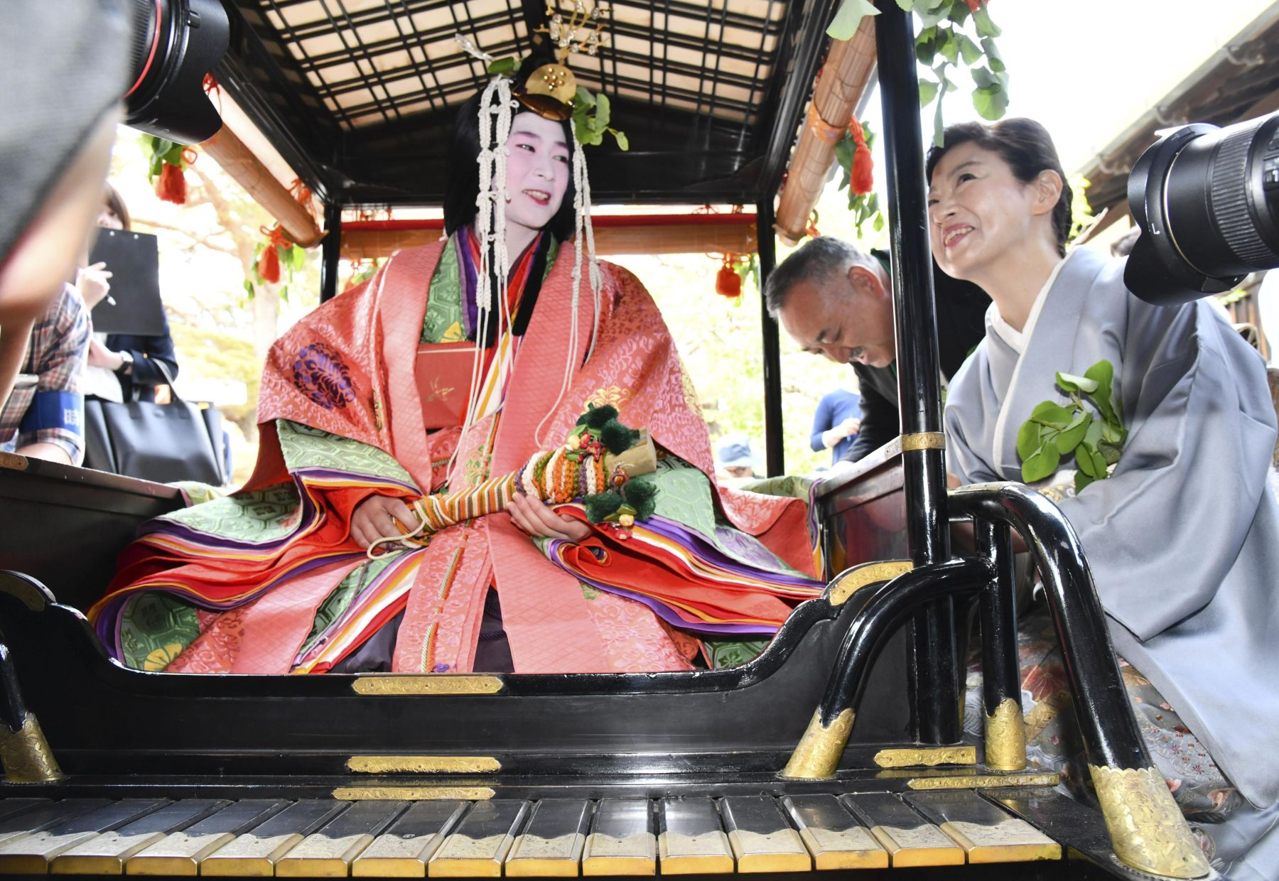Kyoto's Colorful Traditions on Display at First Aoi Matsuri of Reiwa Era 025