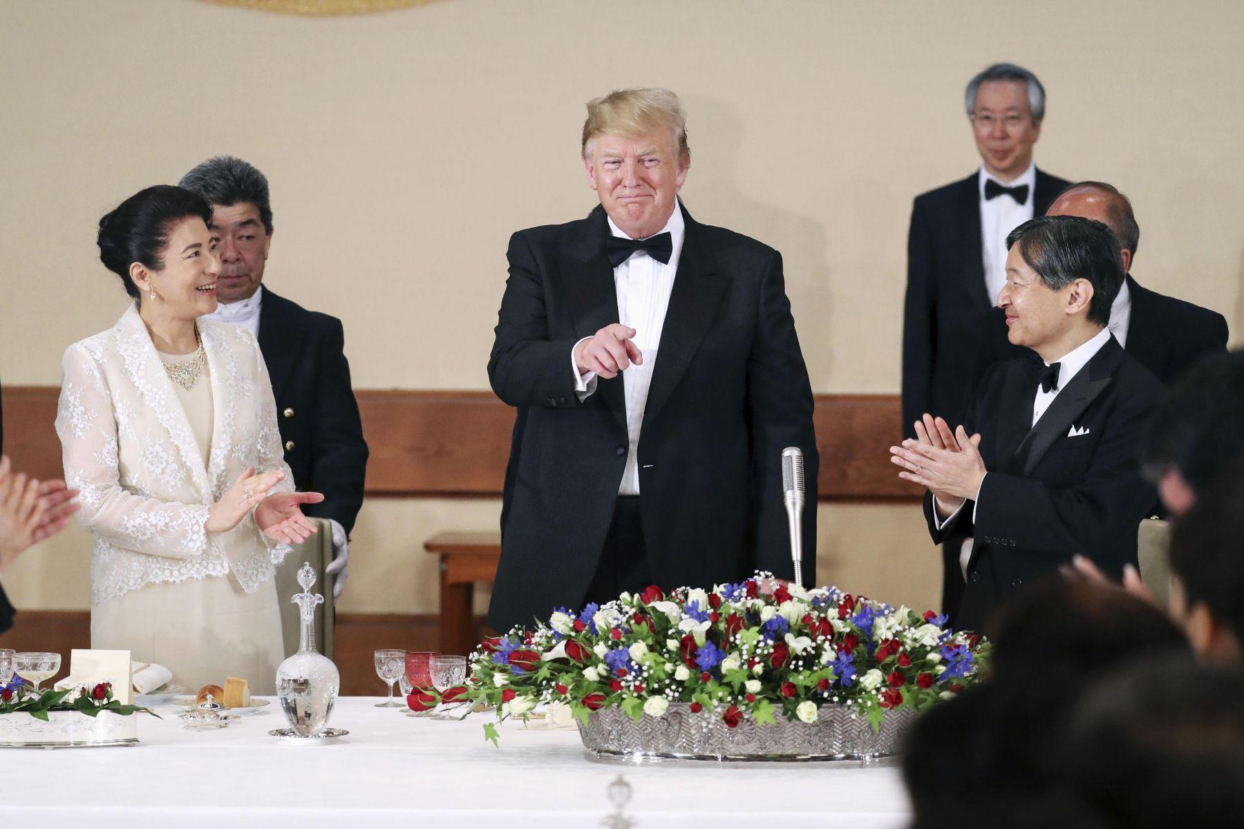 U.S. President Trump Visit to Japan 008