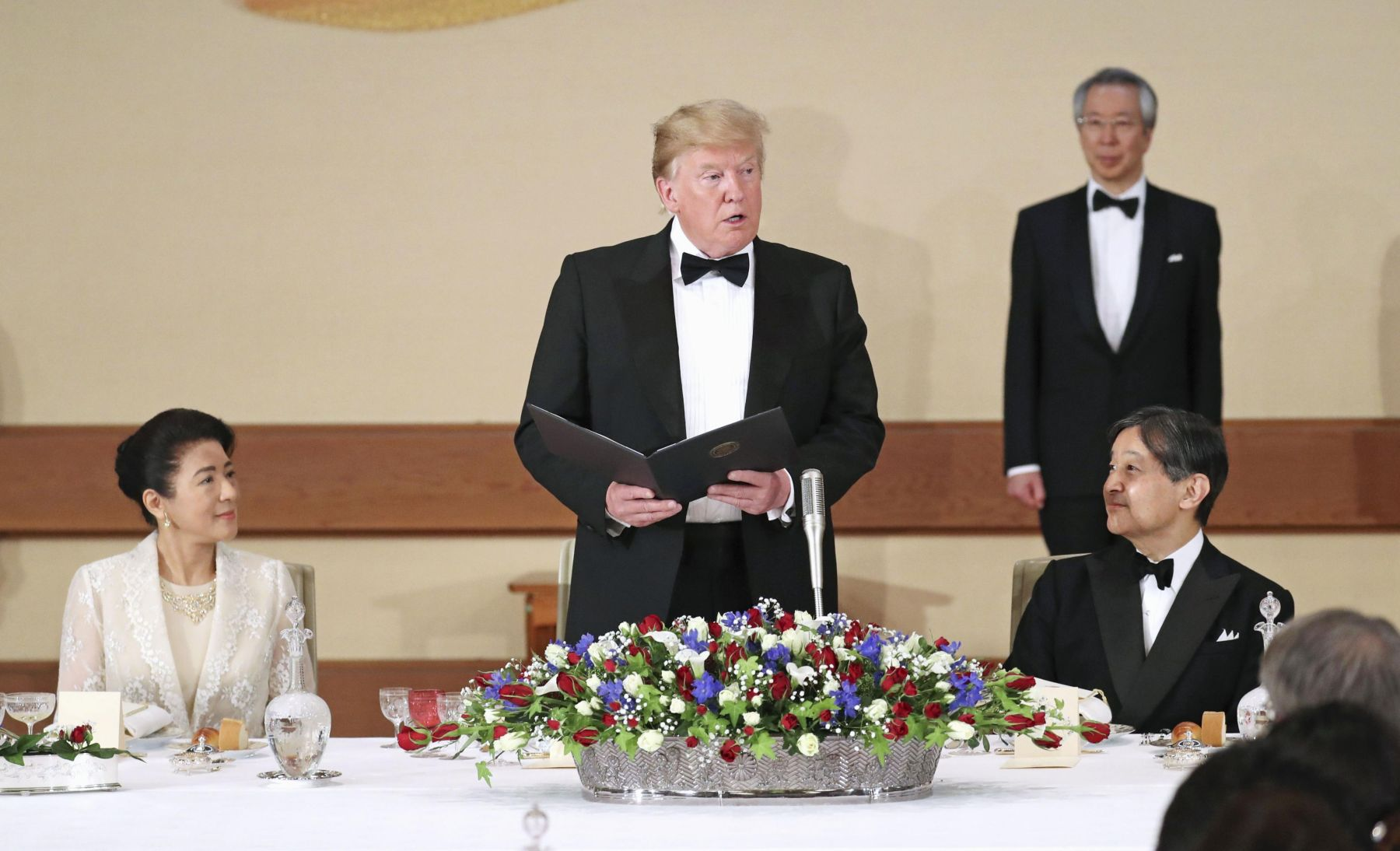 U.S. President Trump Visit to Japan 009