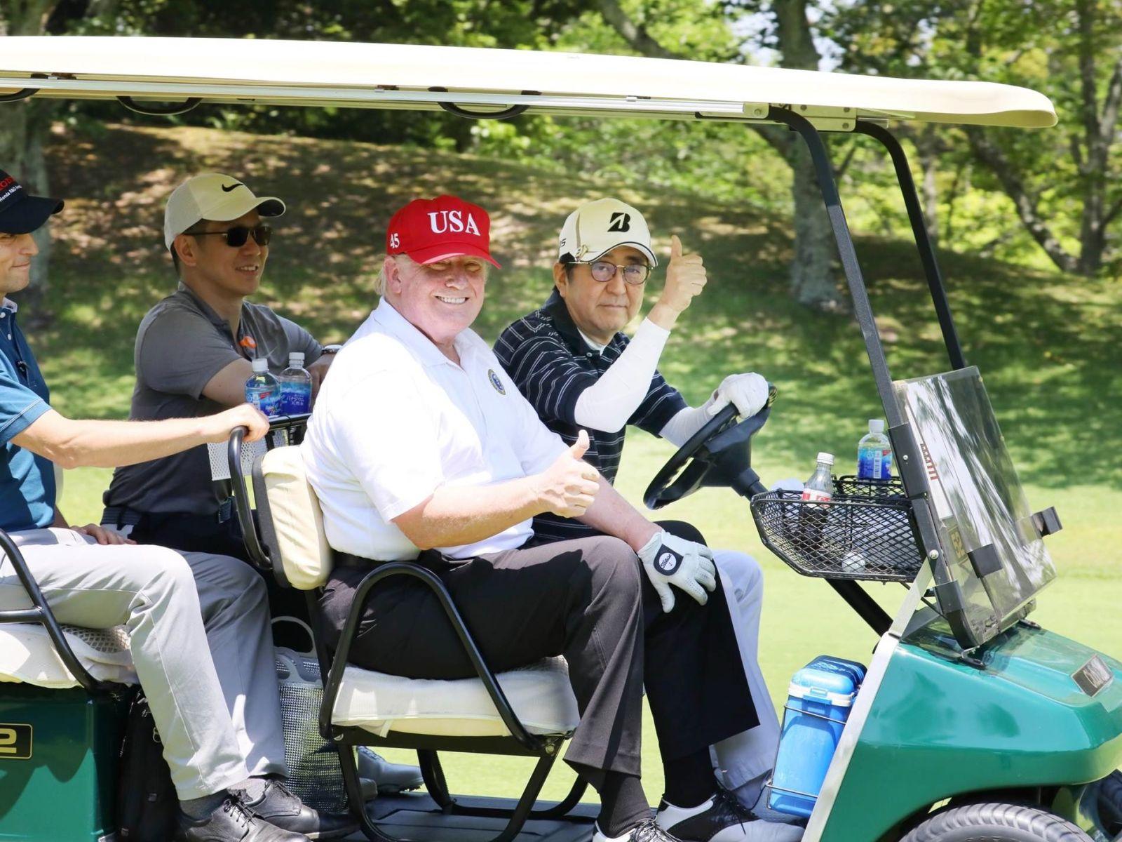 U.S. President Trump Visit to Japan Reiwa Era 013