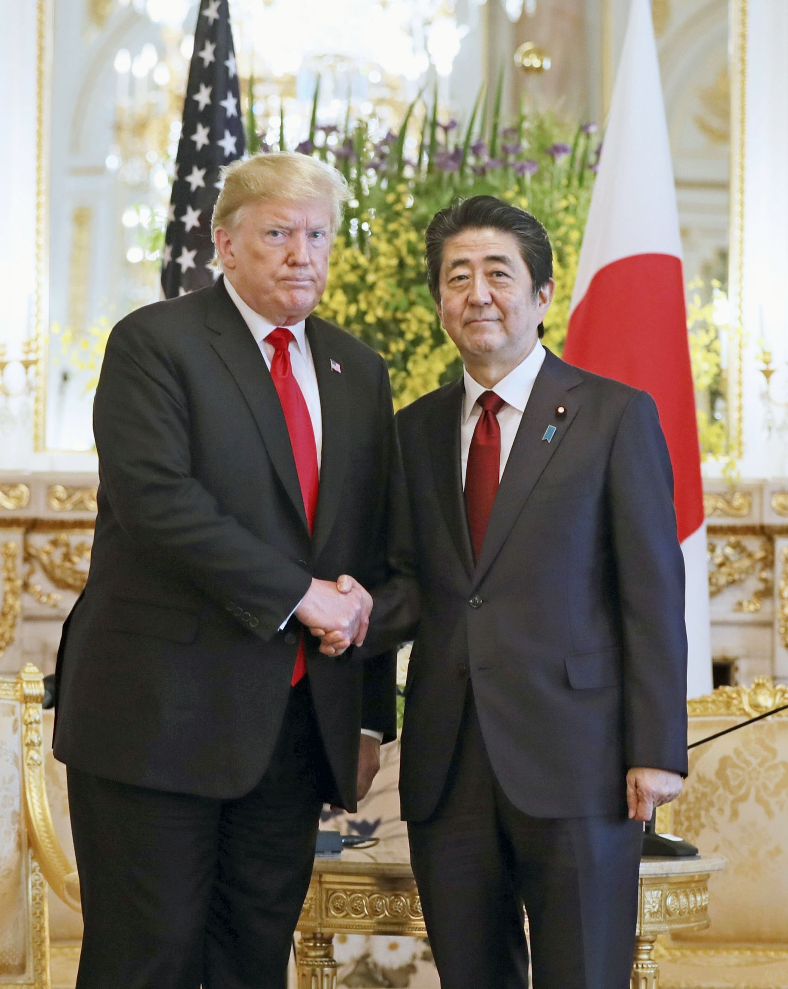 U.S. President Trump Visit to Japan Reiwa Era 036
