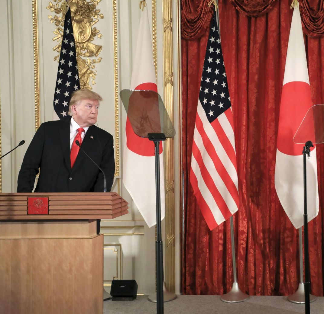 U.S. President Trump Visit to Japan Reiwa Era 041