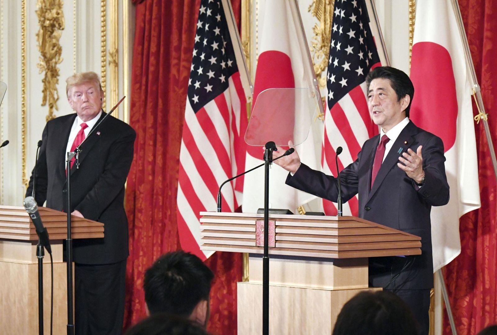 U.S. President Trump Visit to Japan Reiwa Era 043