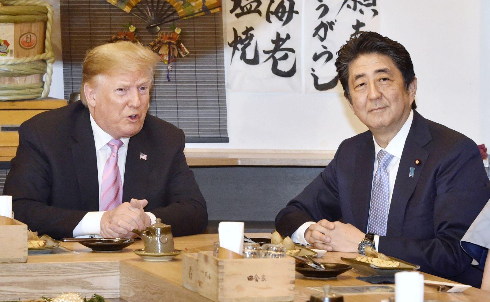 U.S. President Trump Visit to Japan Reiwa Era 045