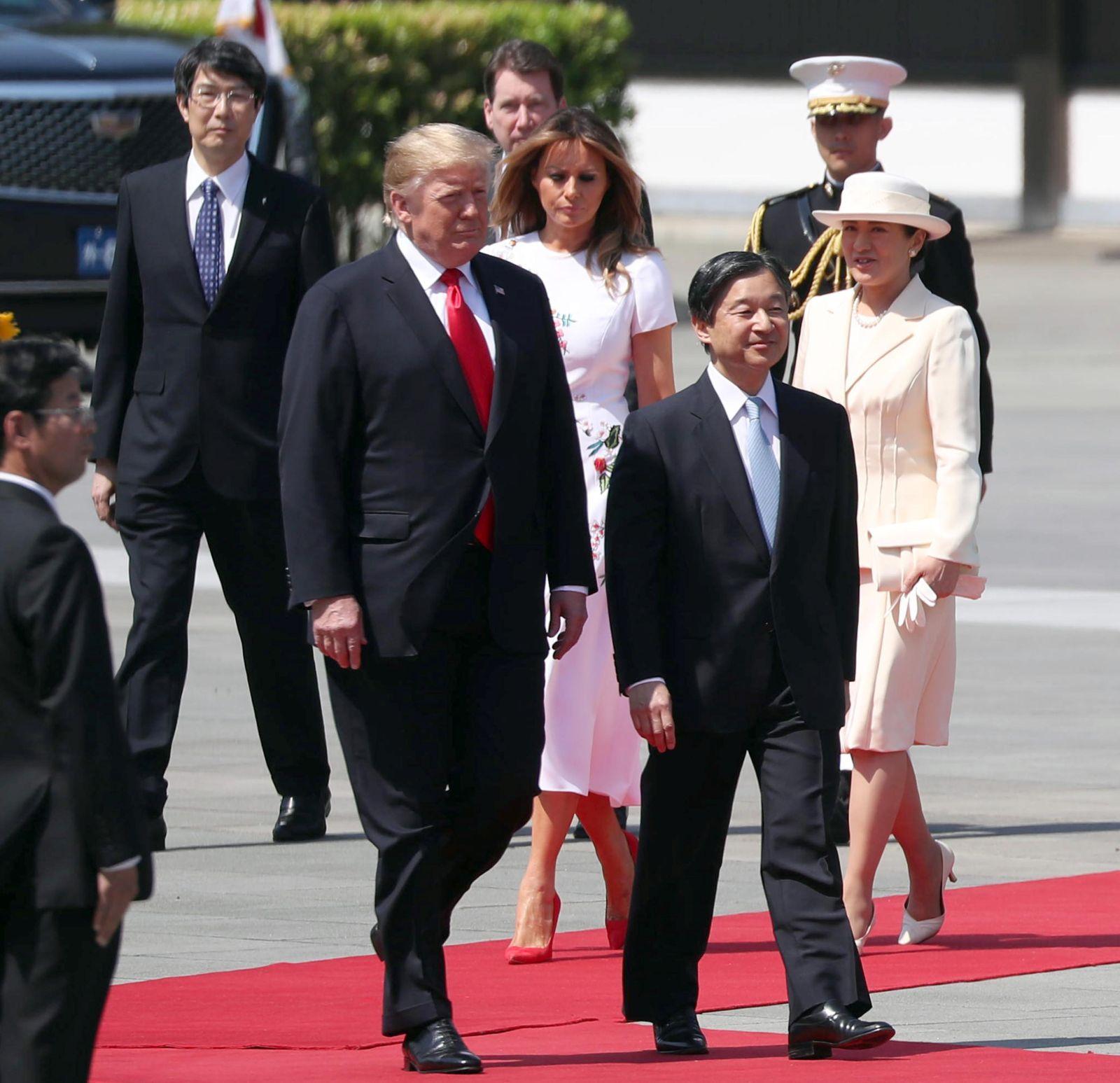 U.S. President Trump Visit to Japan Reiwa Era 054