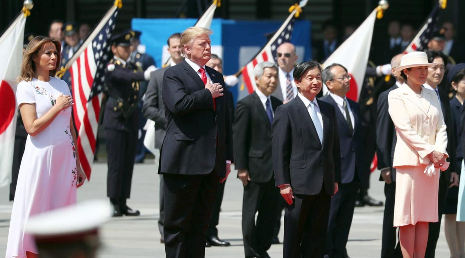 U.S. President Trump Visit to Japan Reiwa Era 062