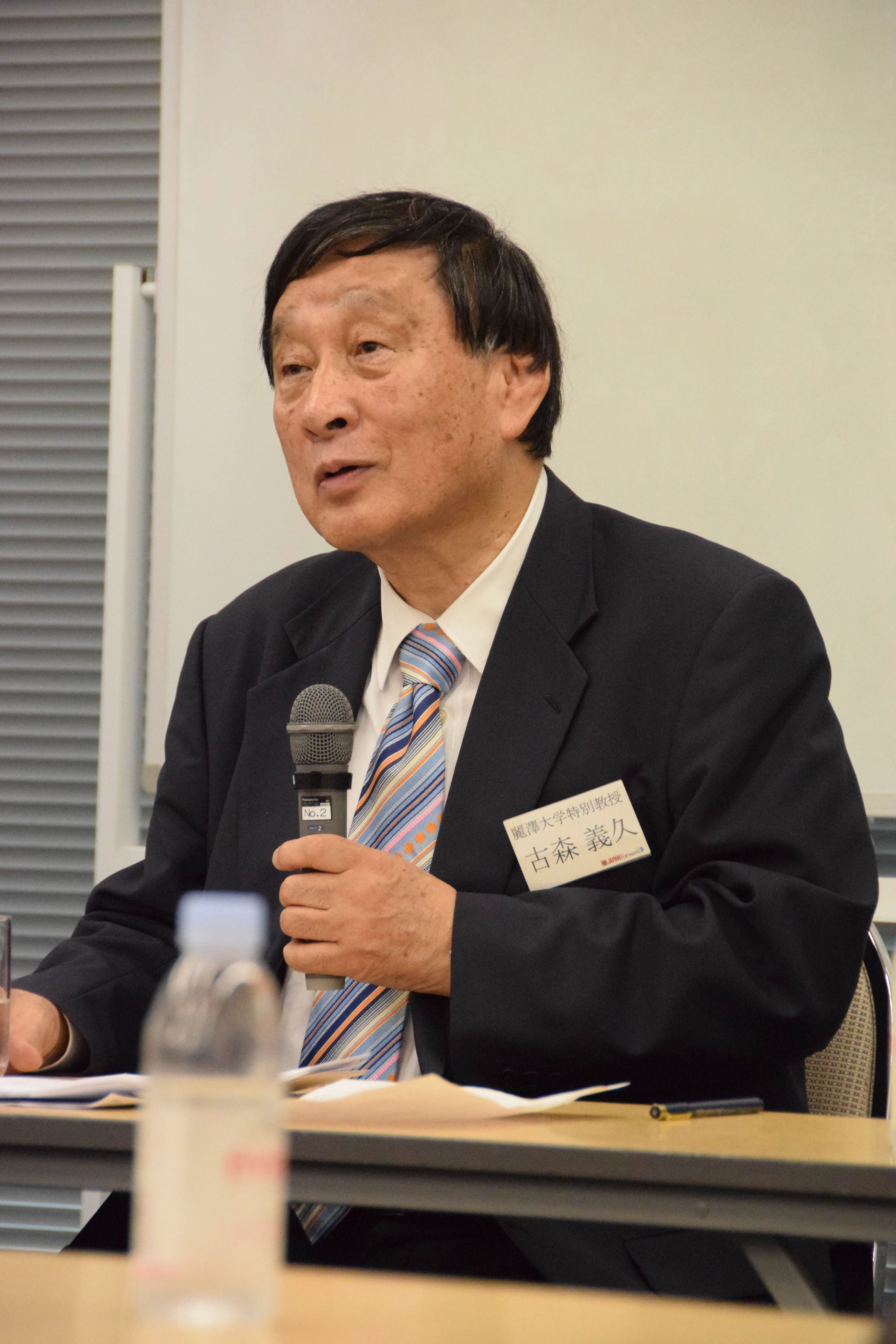 Yoshihisa Komori, The Sankei Shimbun's associate correspondent in Washington, D.C.