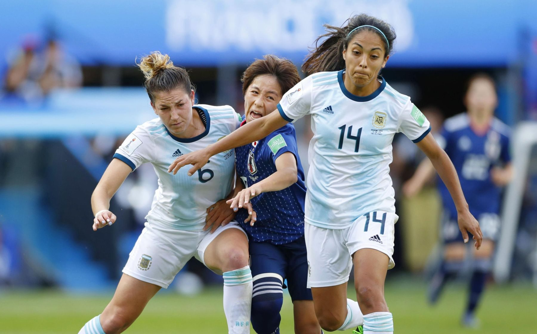 2019 FIFA Women's World Cup Japan vs Argentina 008