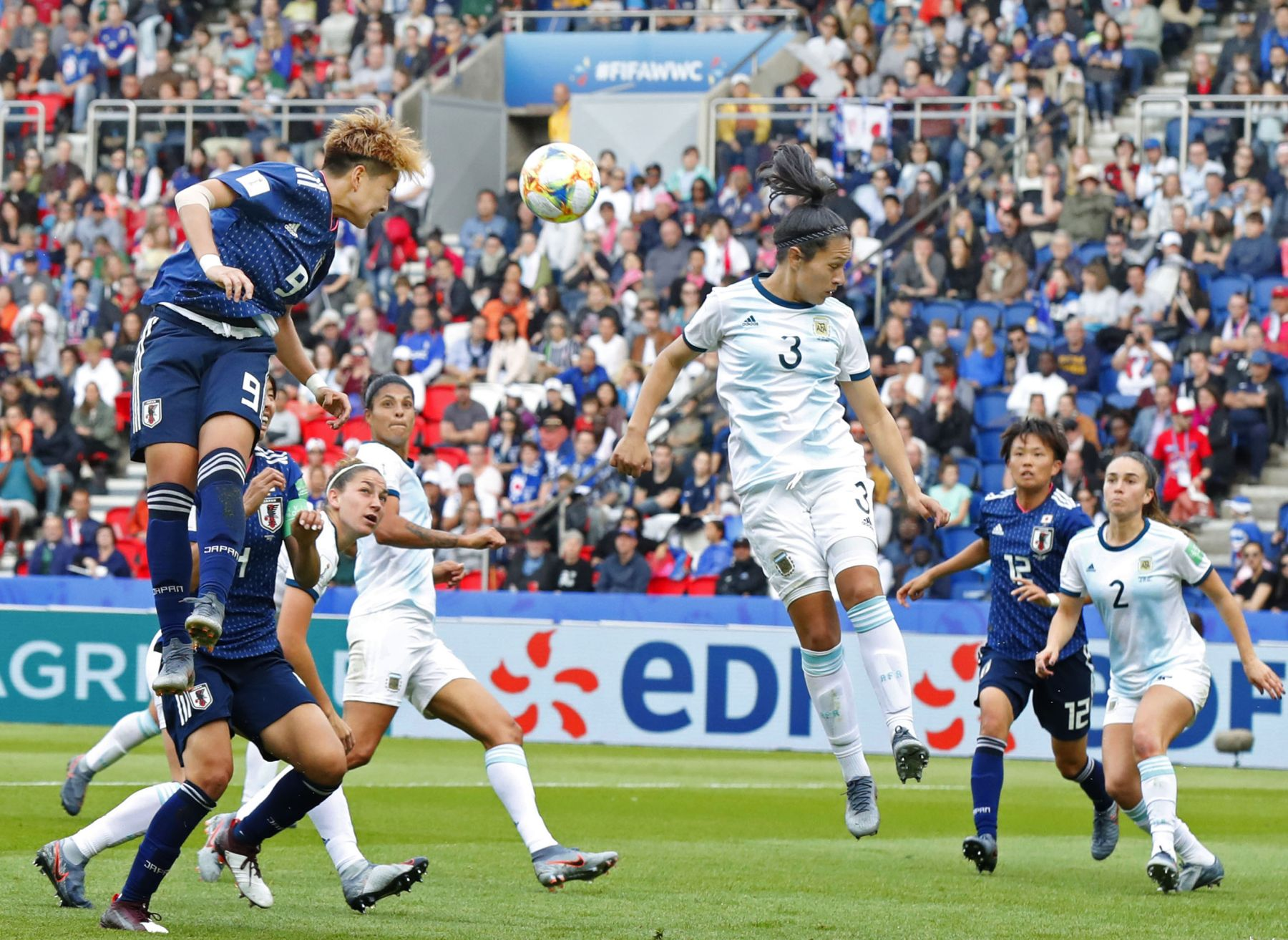 2019 FIFA Women's World Cup Japan vs Argentina 009