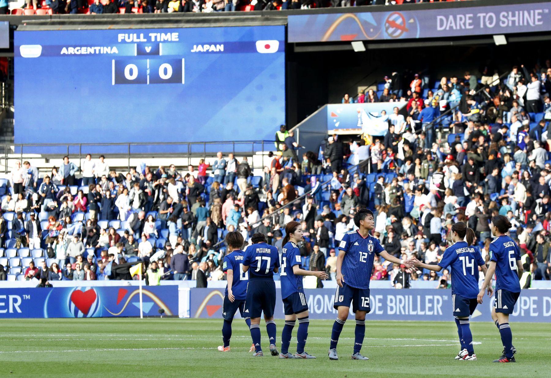 2019 FIFA Women's World Cup Japan vs Argentina 013