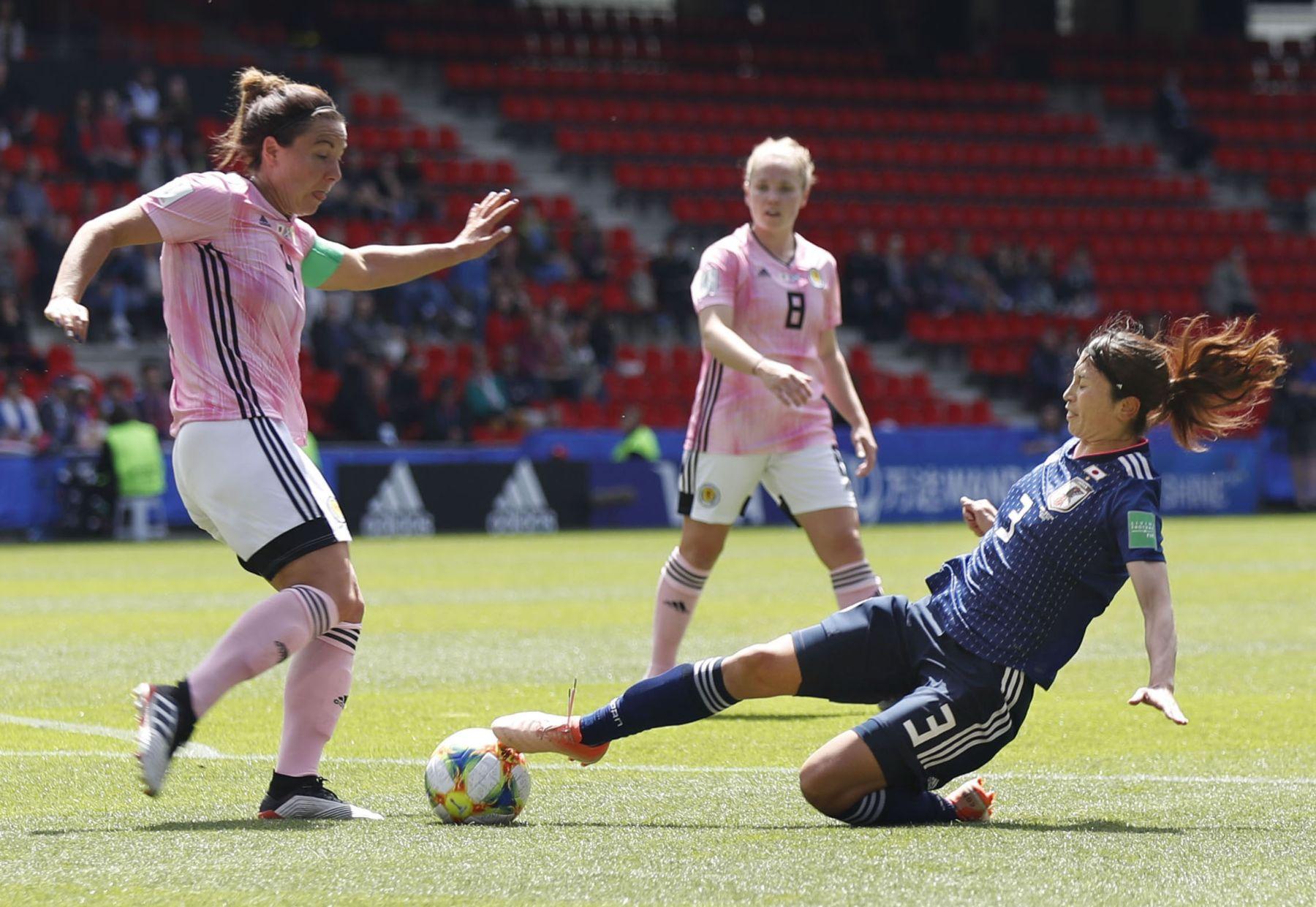2019 FIFA Women's World Cup Japan vs Scotland 006