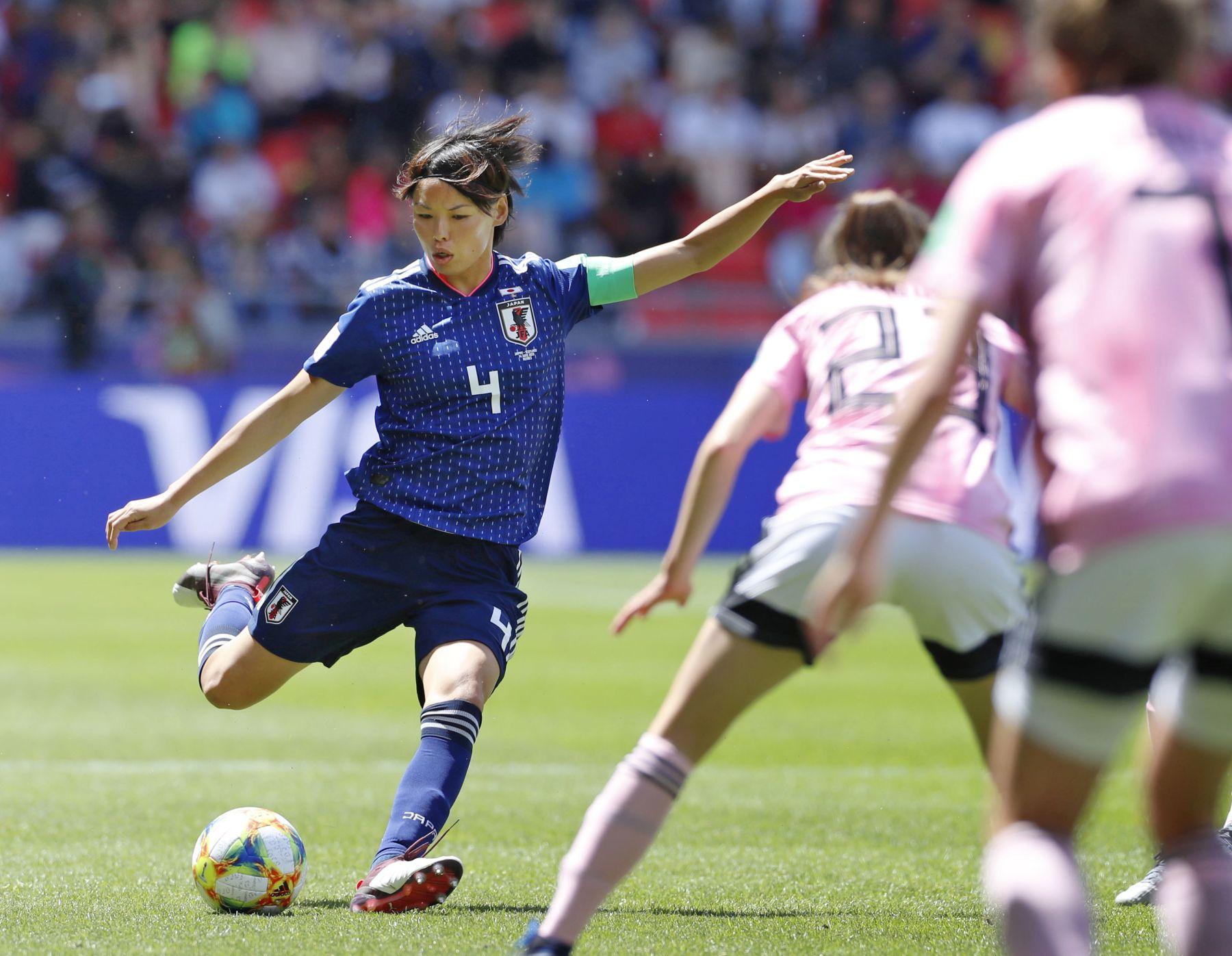 2019 FIFA Women's World Cup Japan vs Scotland 012