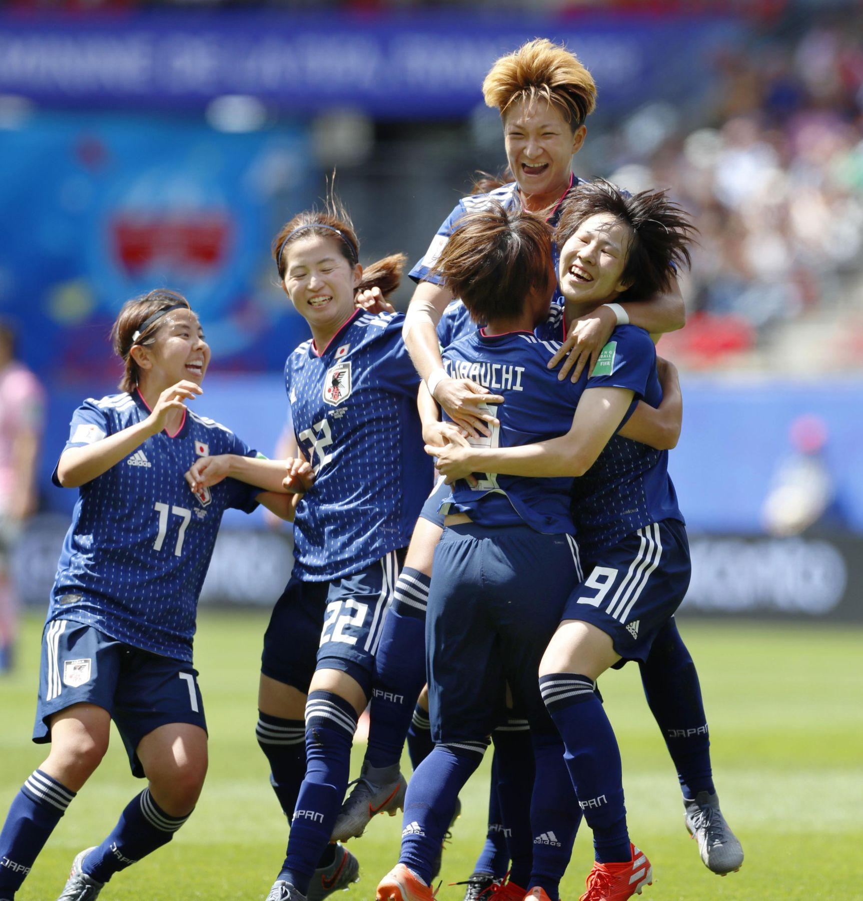 2019 FIFA Women's World Cup Japan vs Scotland 018