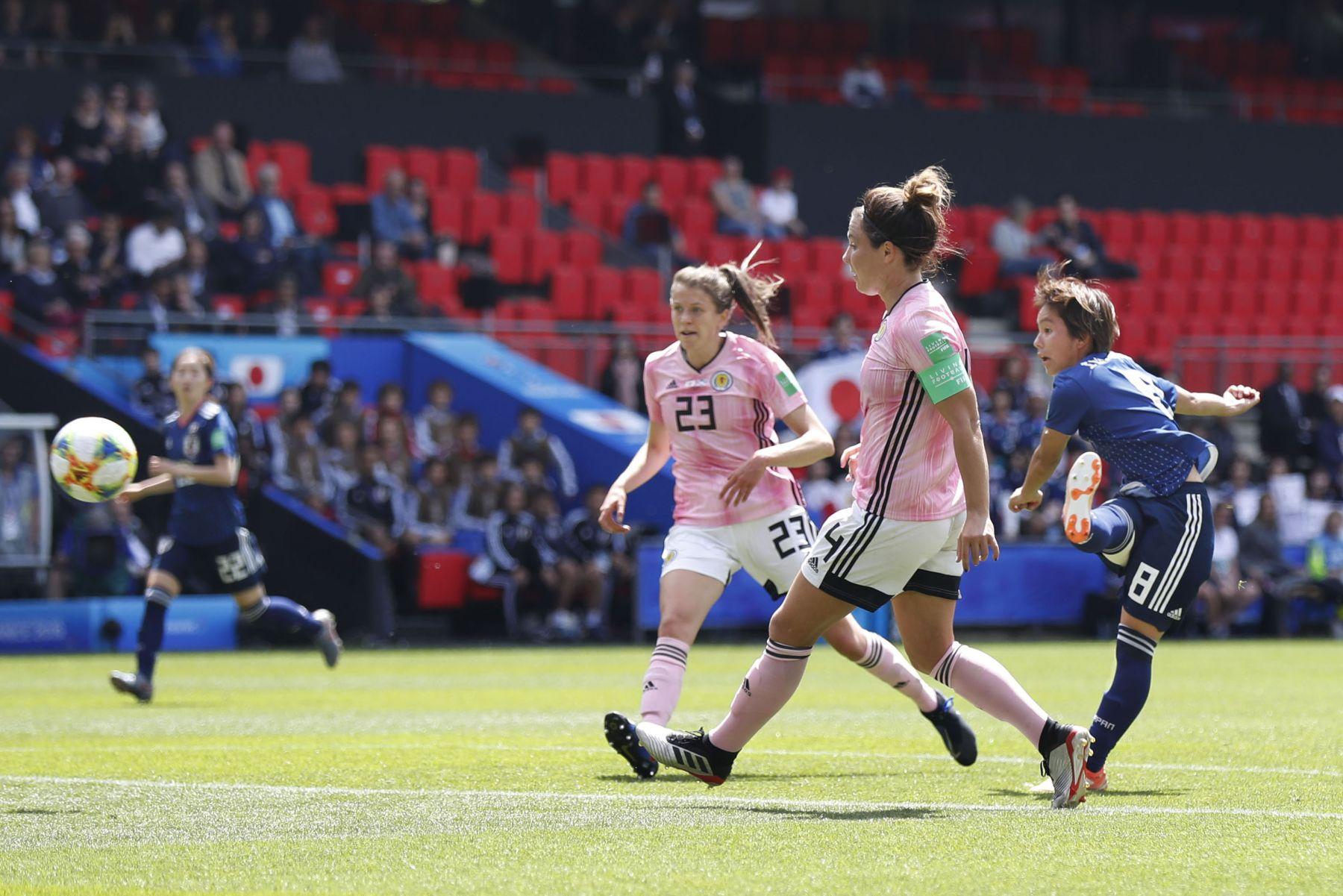 2019 FIFA Women's World Cup Japan vs Scotland 020