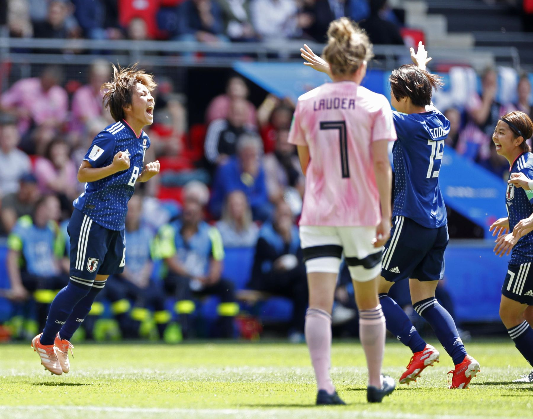 2019 FIFA Womens World Cup Japan vs Scotland 004