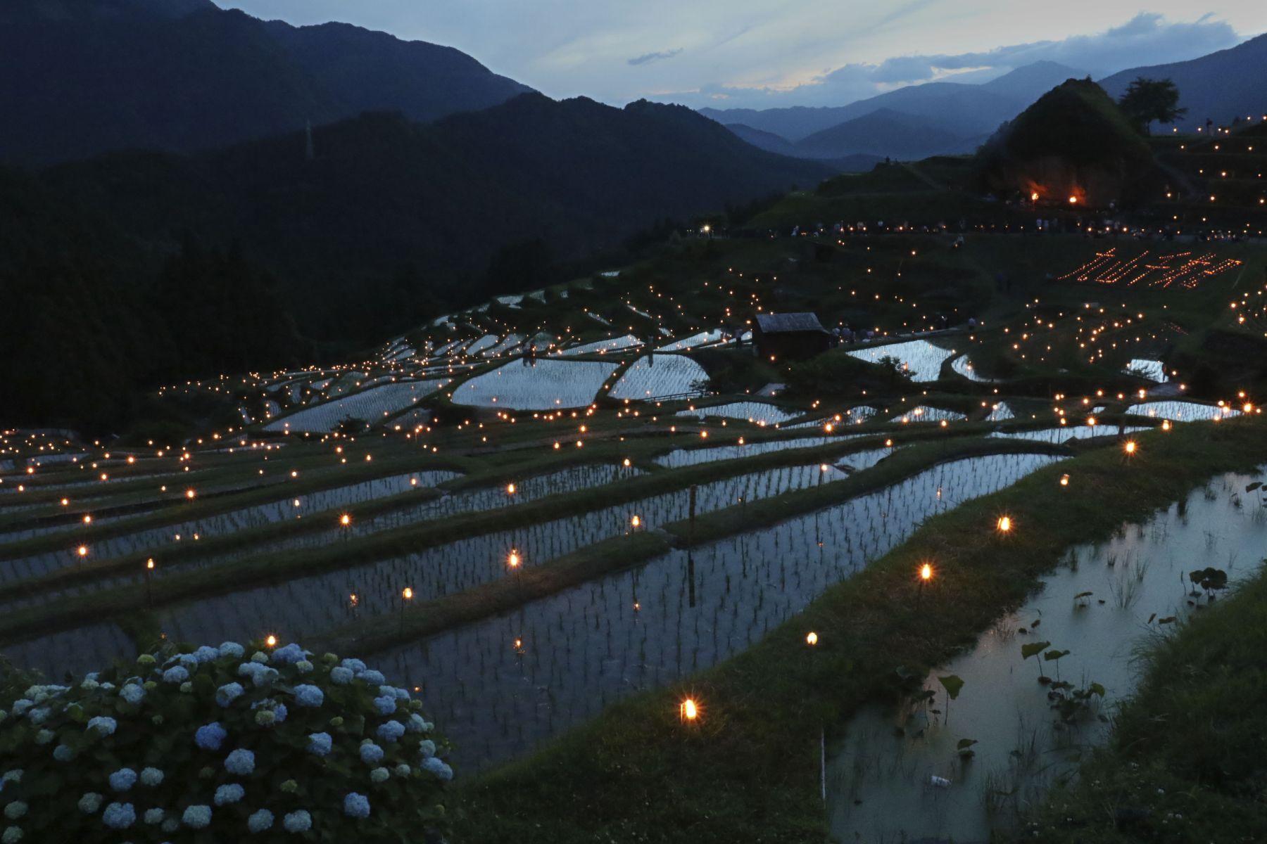 Beautiful Japan Kumano Thousands of Rice Paddy 002