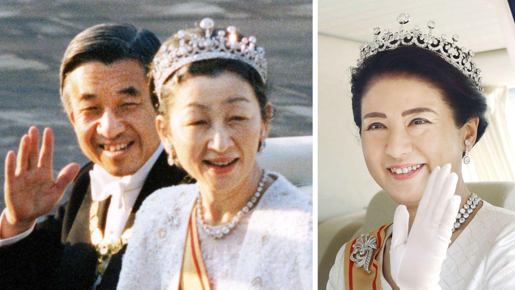 Japan Imperial Trivia Empress Tiara and Dresses 010