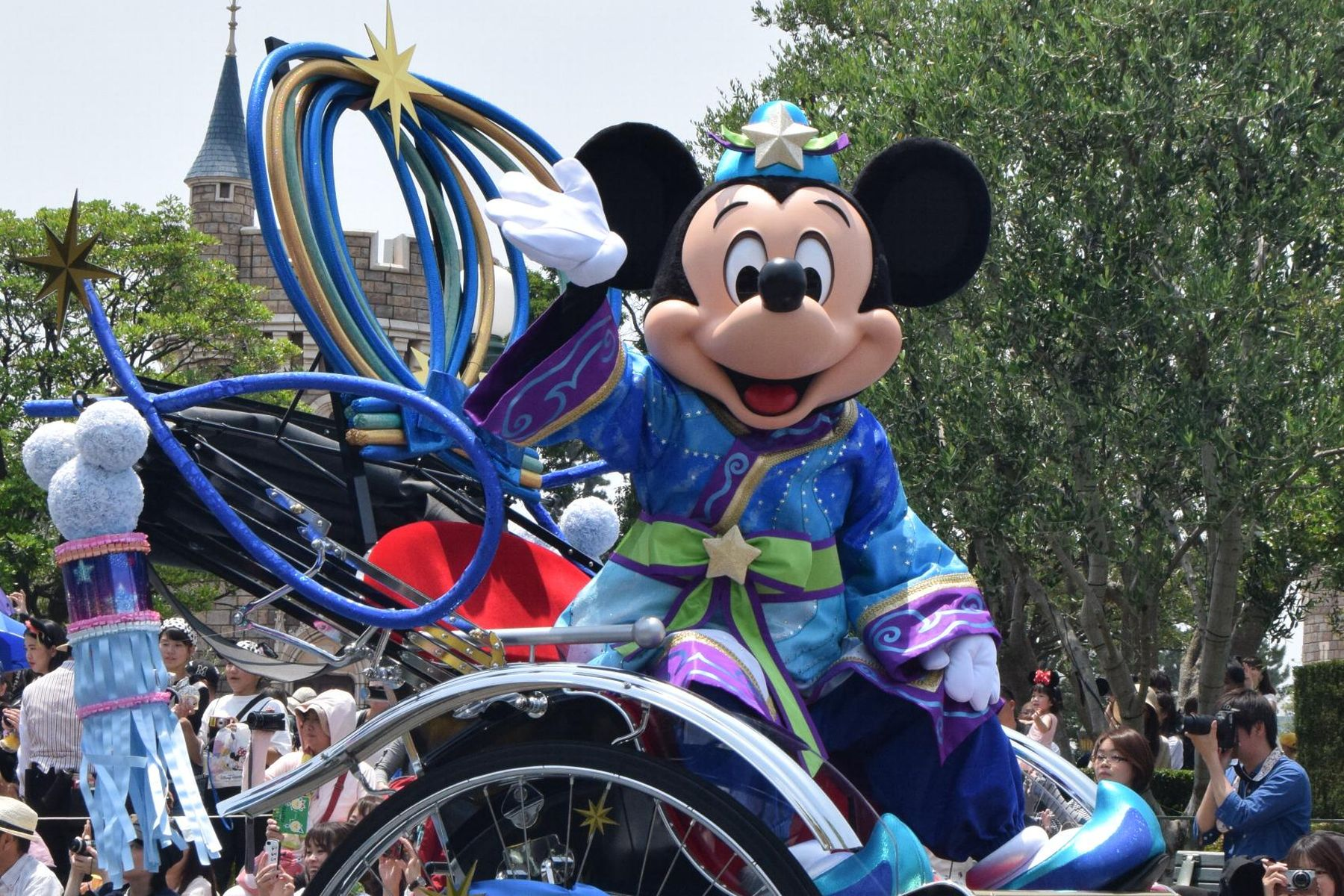 Japan Tokyo Disney Opens New Section 003