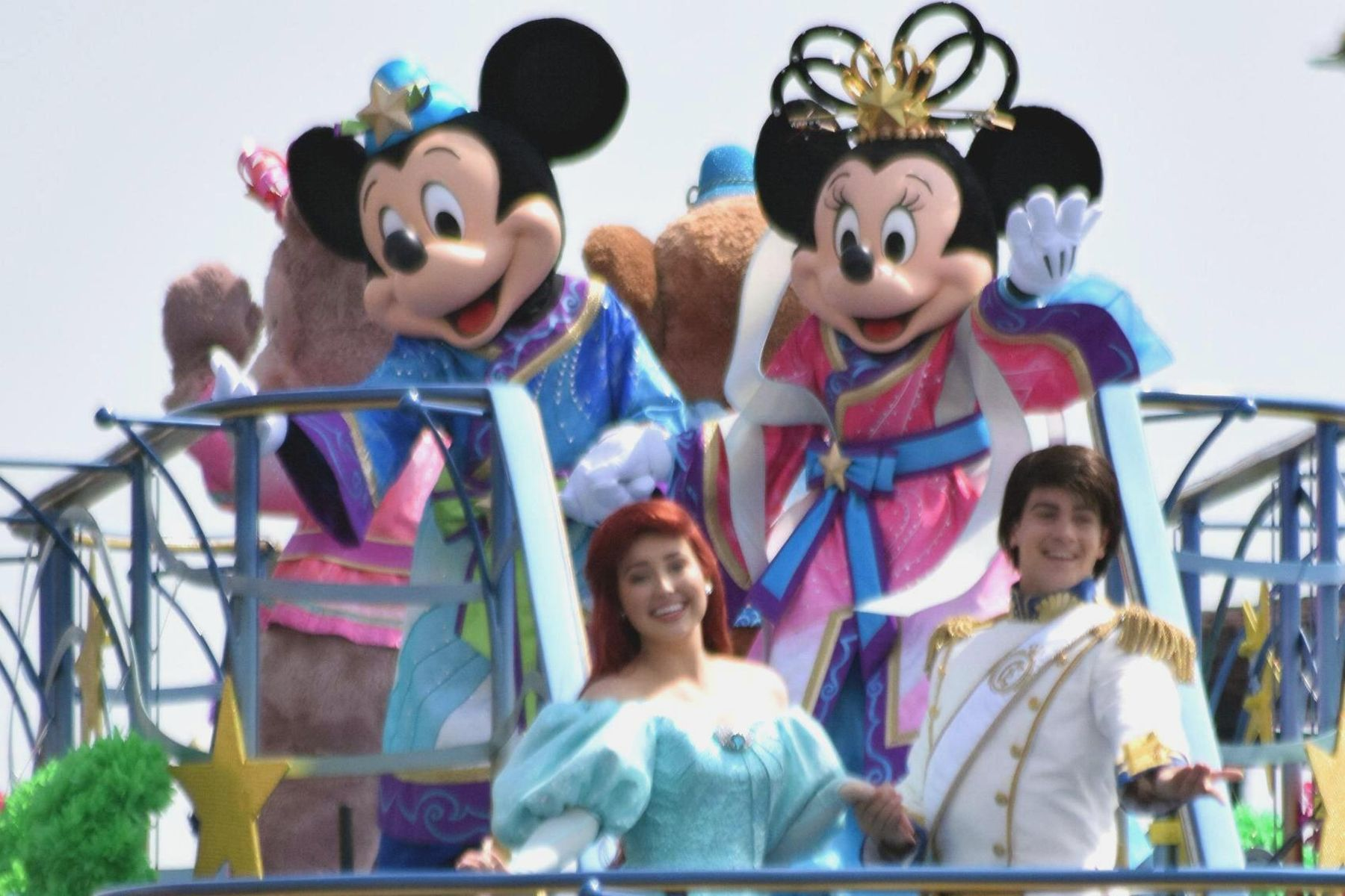 Japan Tokyo Disney Opens New Section 004