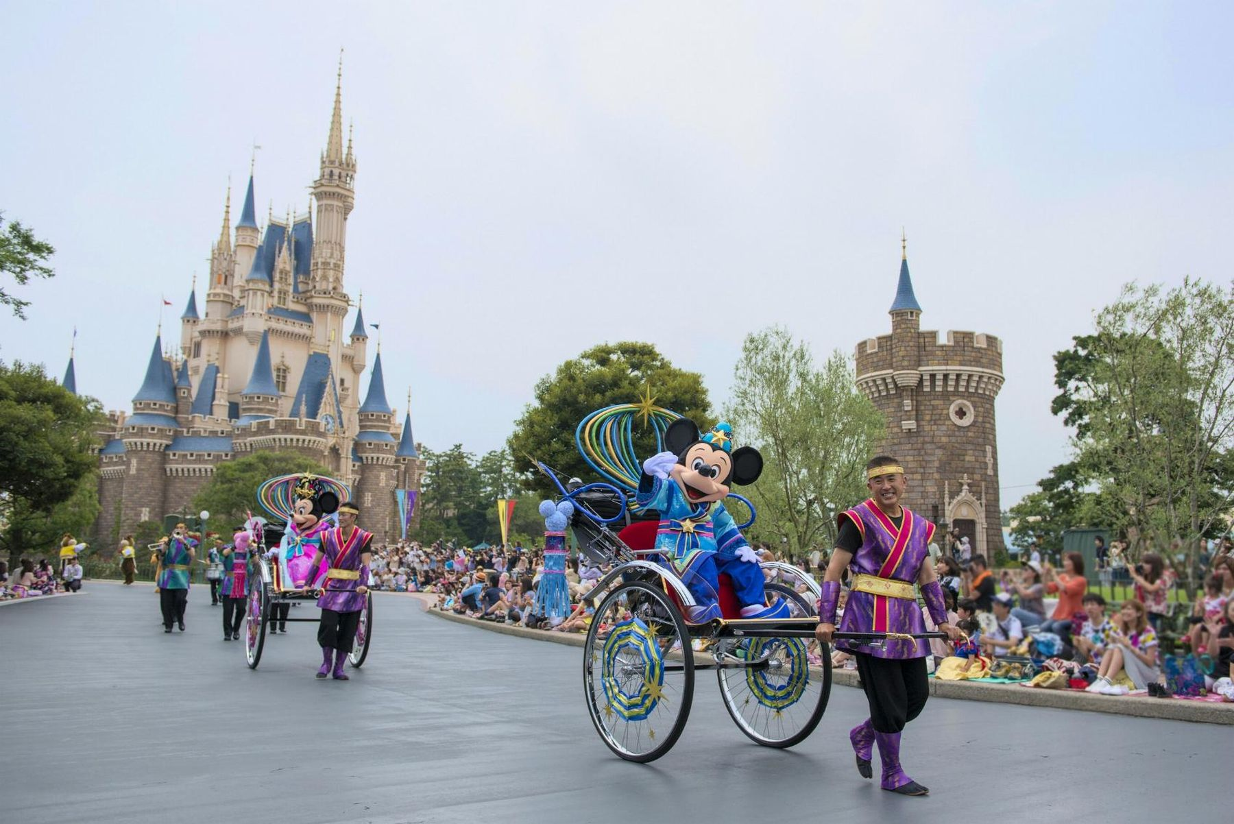 Japan Tokyo Disney Opens New Section 006