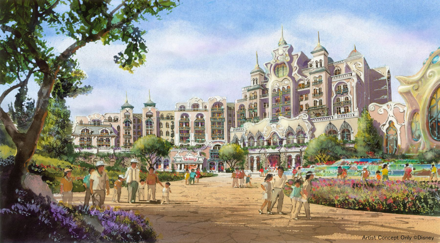 Japan Tokyo Disney Opens New Section 001