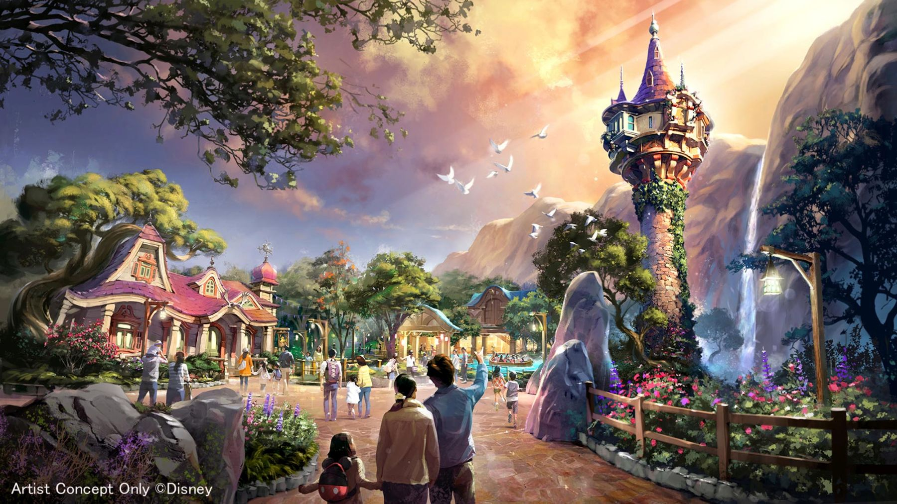 Japan Tokyo Disney Opens New Section 025