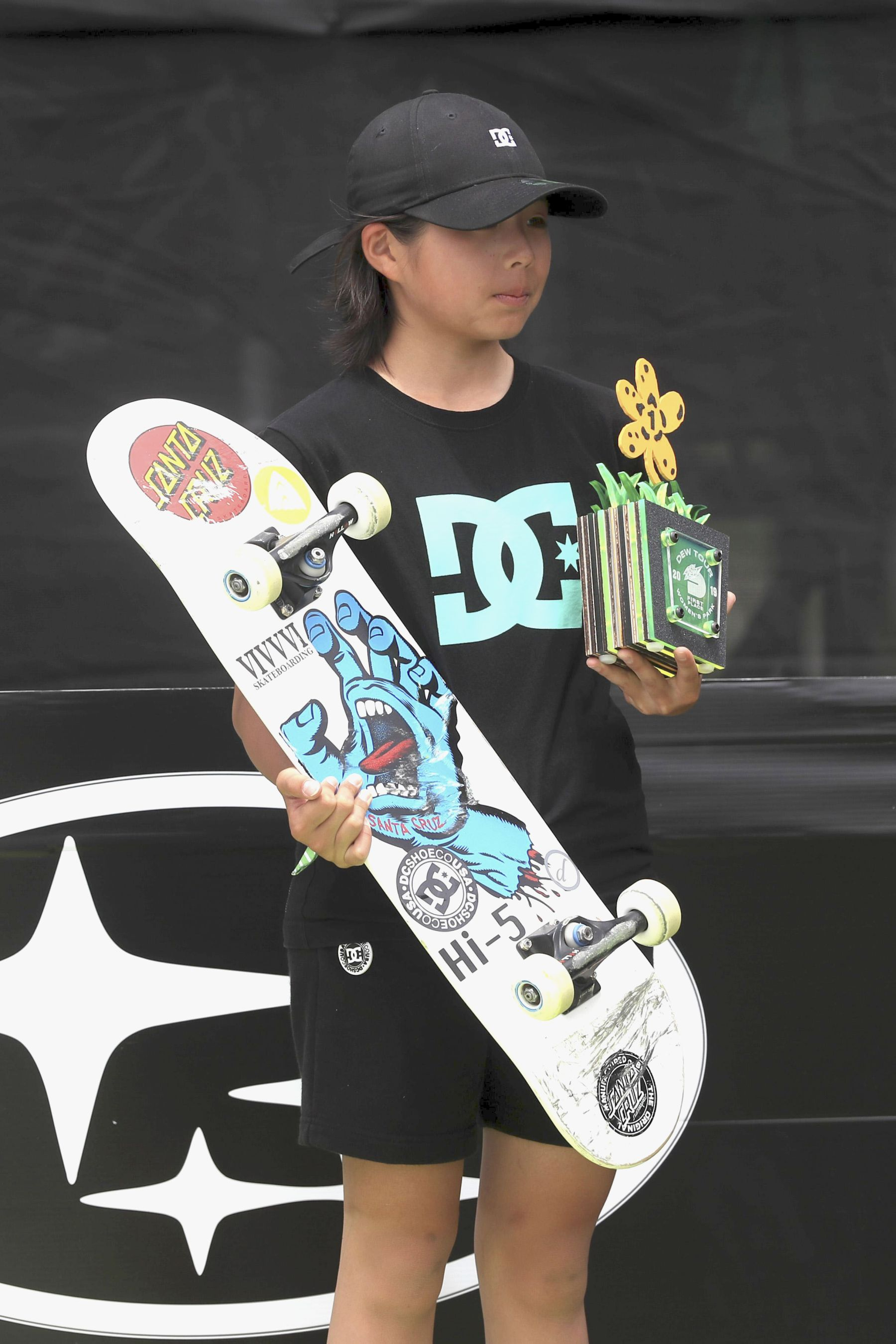 Misugu Okamoto Japan Wins in the Womens Park Skateboard Final 004