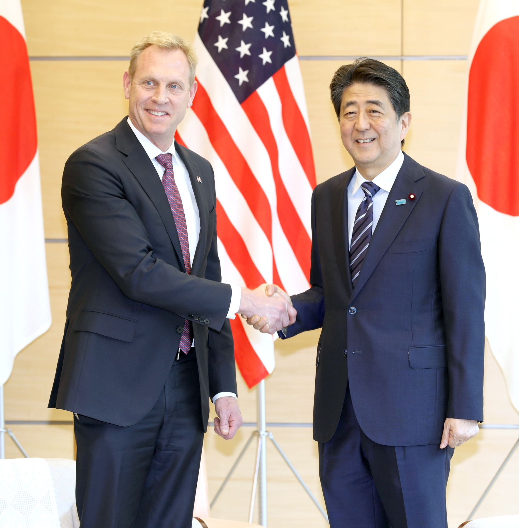 Patrick Shanahan announced the US Indo-Pacific Strategy at Singapore 001