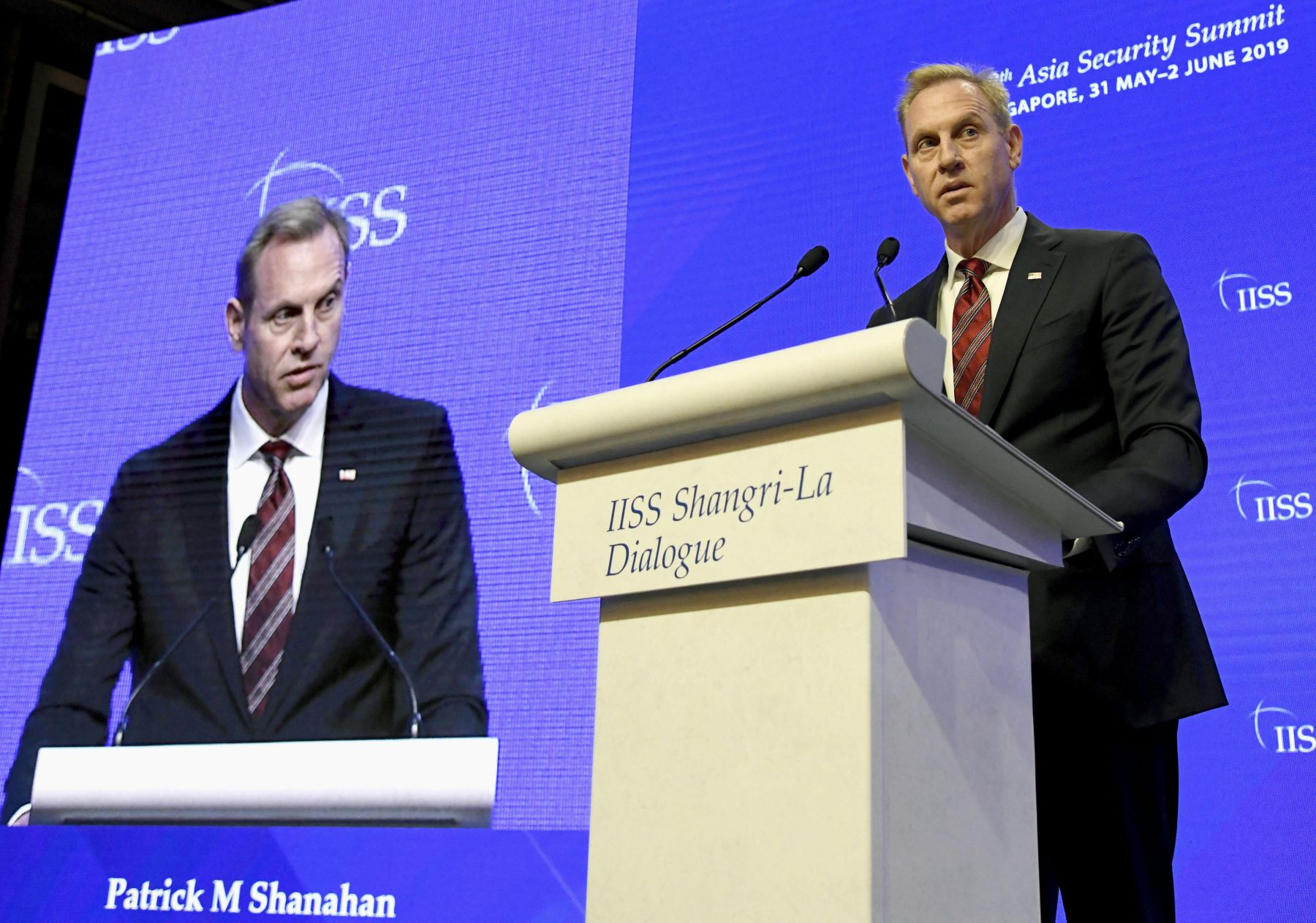 Patrick Shanahan announced the US Indo-Pacific Strategy at Singapore 002