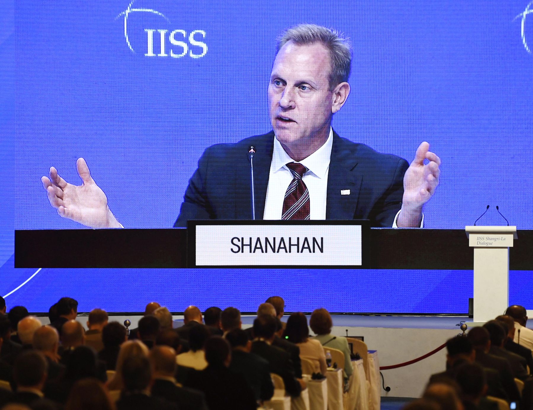 Patrick Shanahan announced the US Indo-Pacific Strategy at Singapore 009
