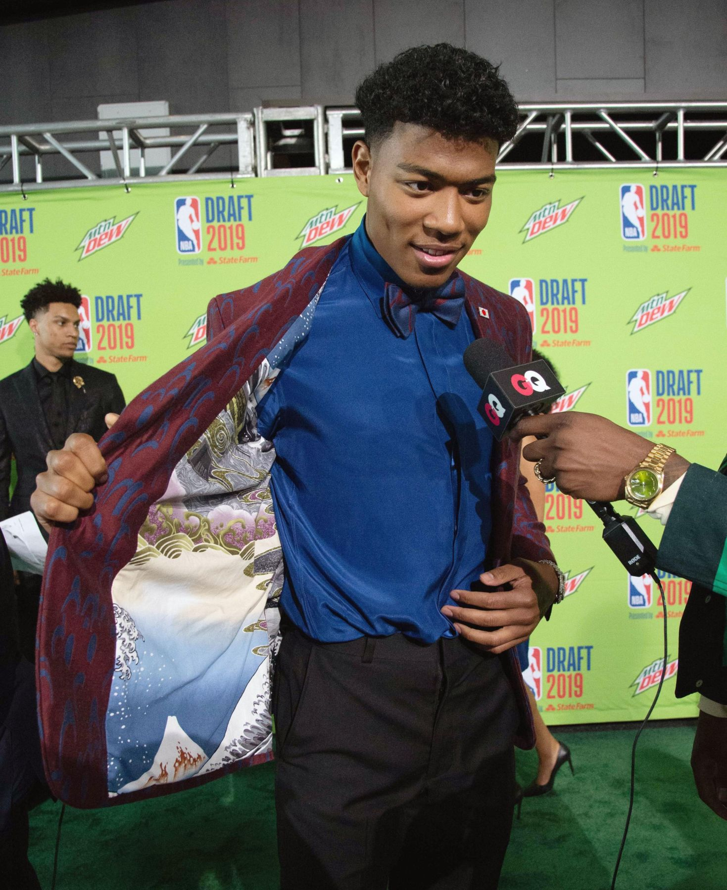 Rui Hachimura Becomes First Japanese NBA Draft 009