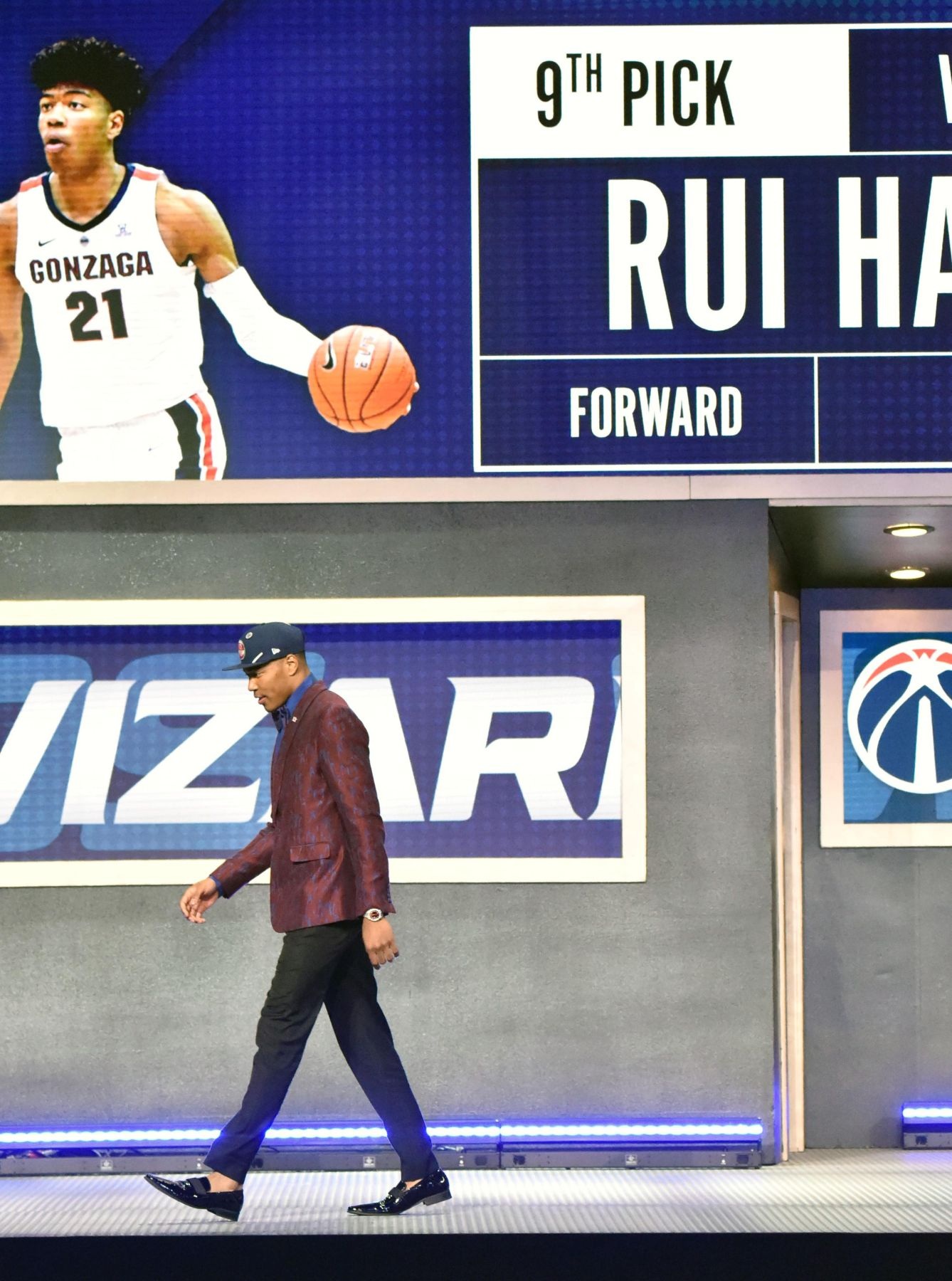 Rui Hachimura Becomes First Japanese NBA Draft 015