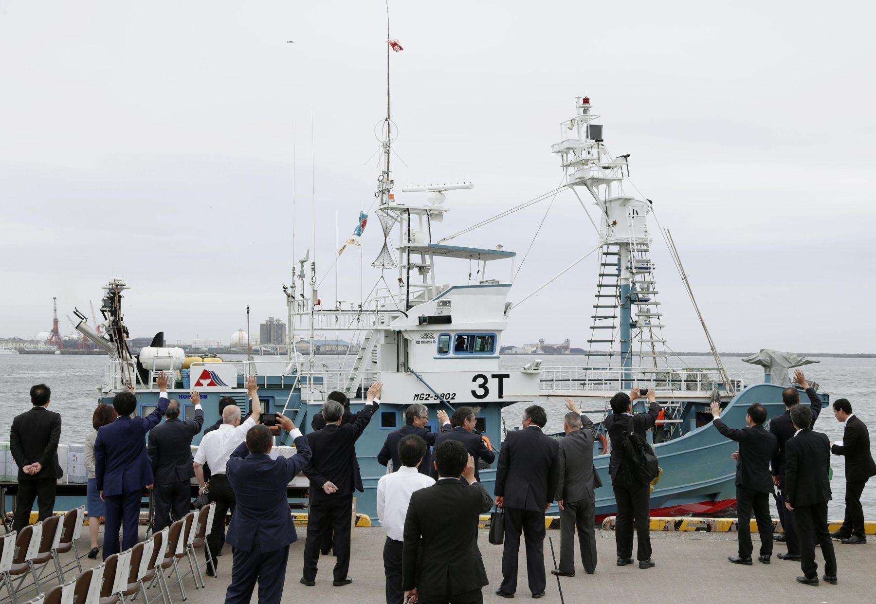 Japan Resumes Commercial Whaling 016