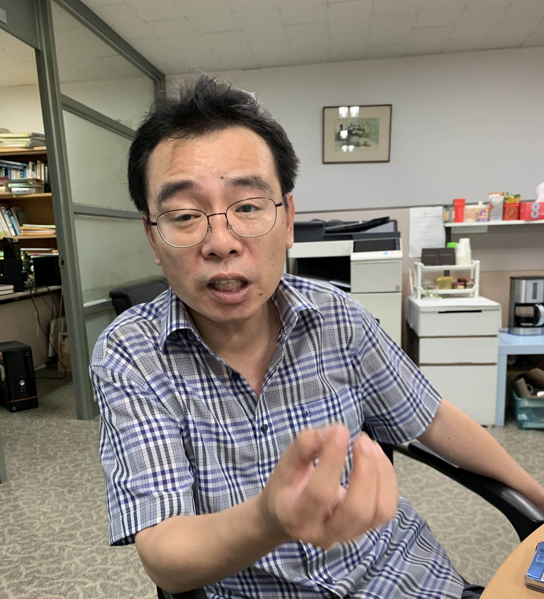 Japan S.Korea Interview with Lee Wo-youn of Koreas Naksungdae Institute of Economic Research 001