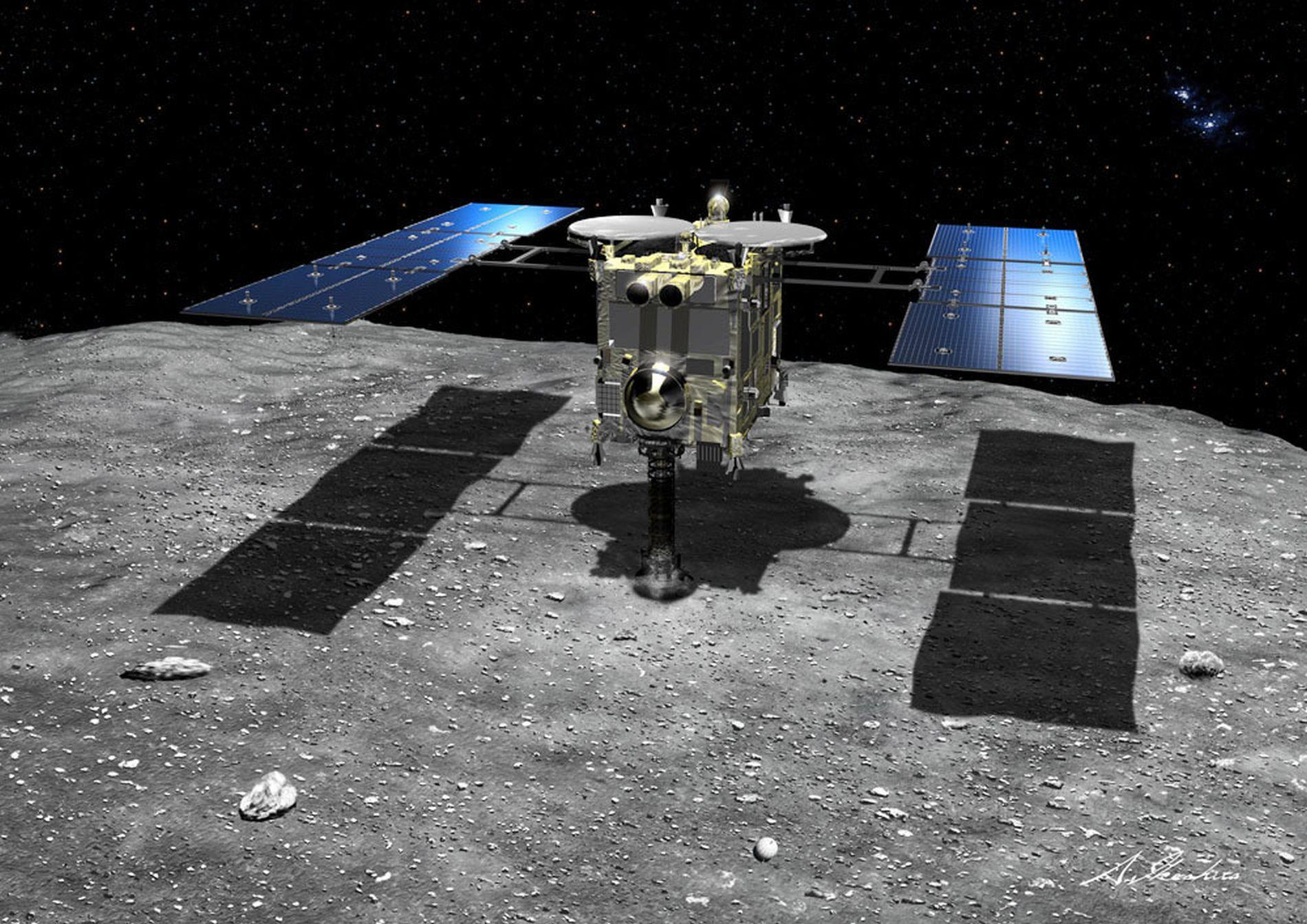 Japan Space Probe Hayabusa 2 2nd Landing 014