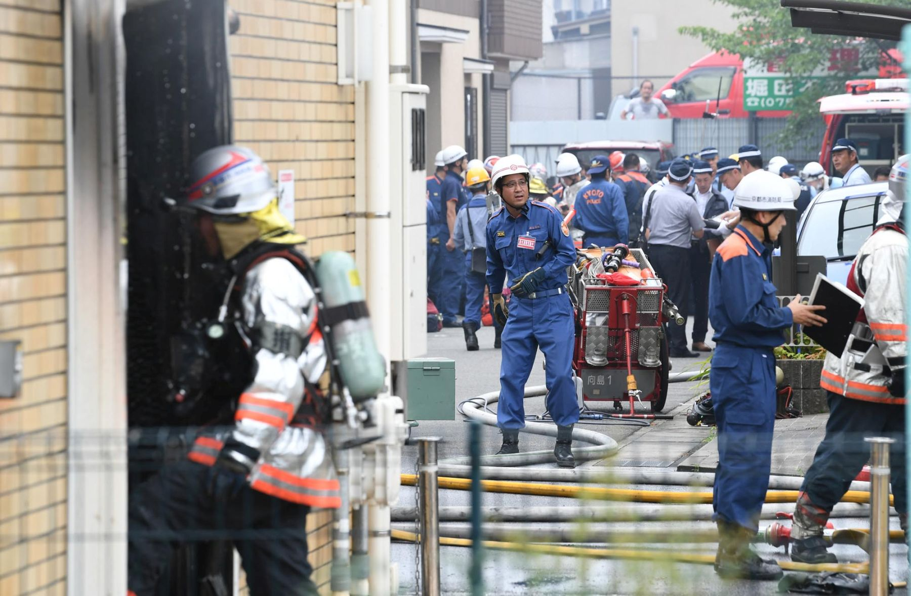 Japan in Shock as Arson at Kyoto Anime Leaves 33 Dead, 35 Injured