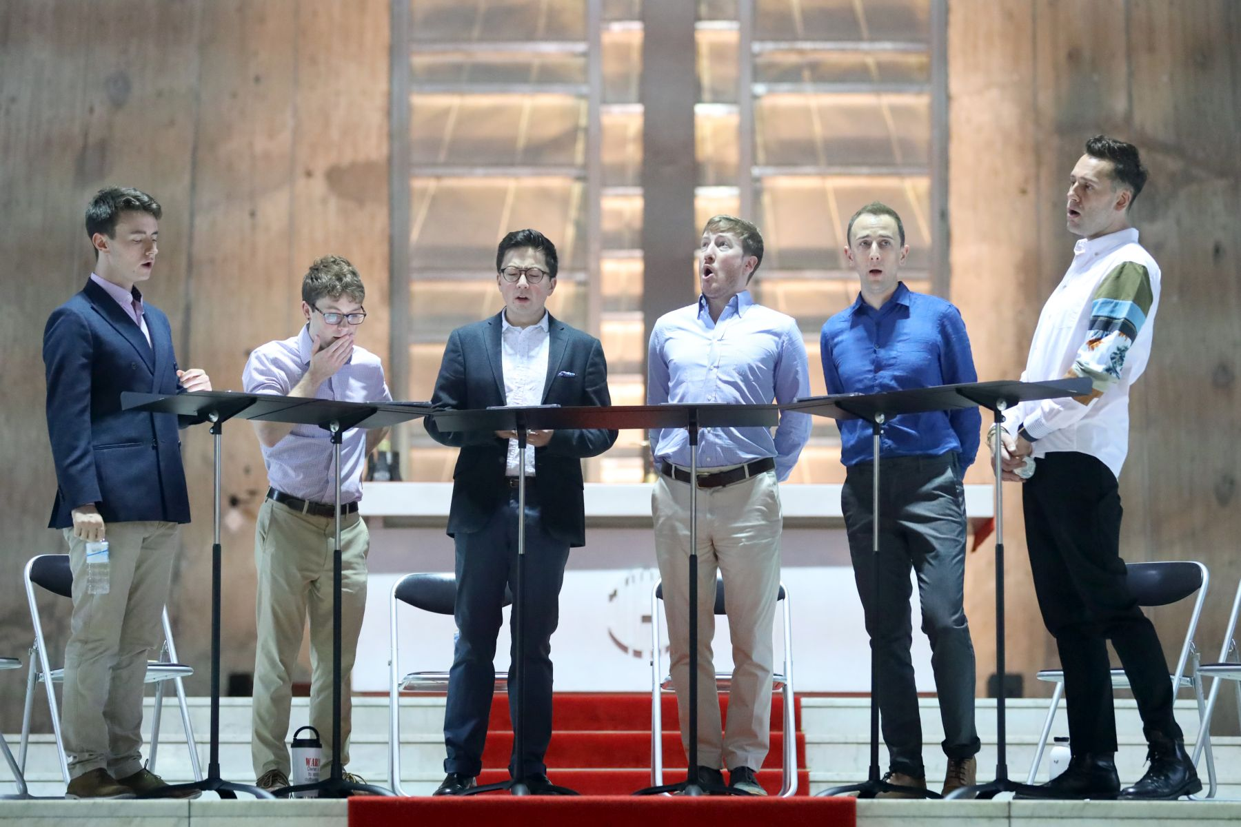 The King's Singers Concert St Mary's Cathedral Tokyo Reiwa Era
