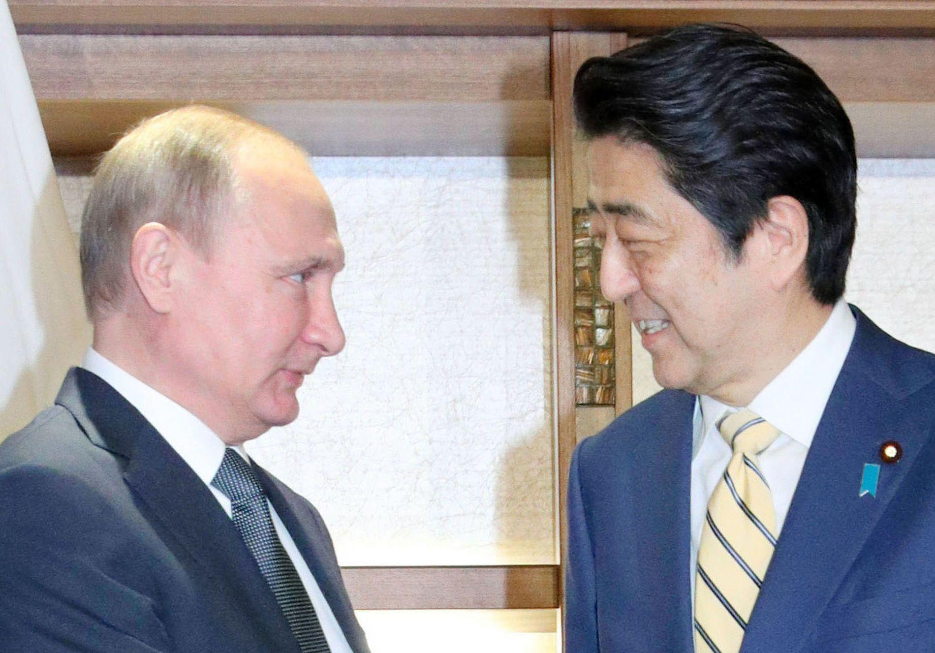 G20 Osaka Summit Russia and Japan Putin Abe Talk 008