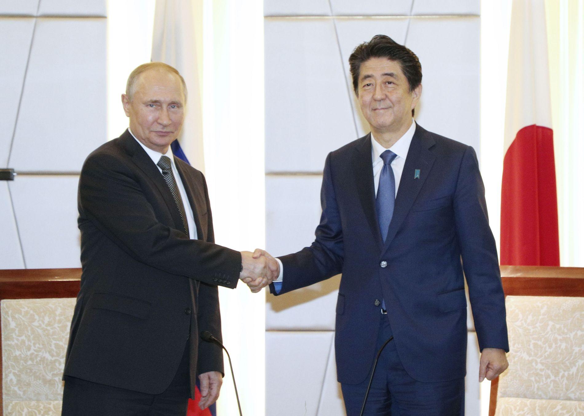 G20 Osaka Summit Russia and Japan Putin Abe Talk 013