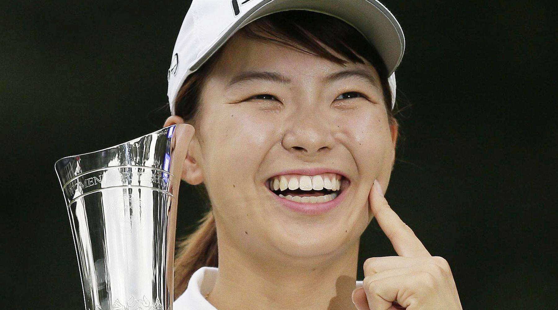 Hinako Shibuno from Japan wins Women's British Open on Major Debut 024