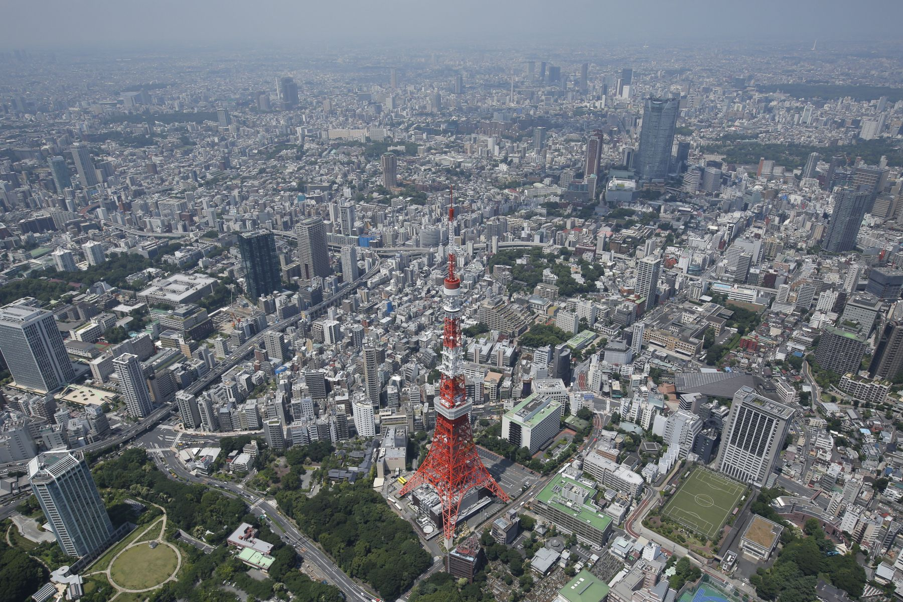 View of Tokyo from the Sky 006
