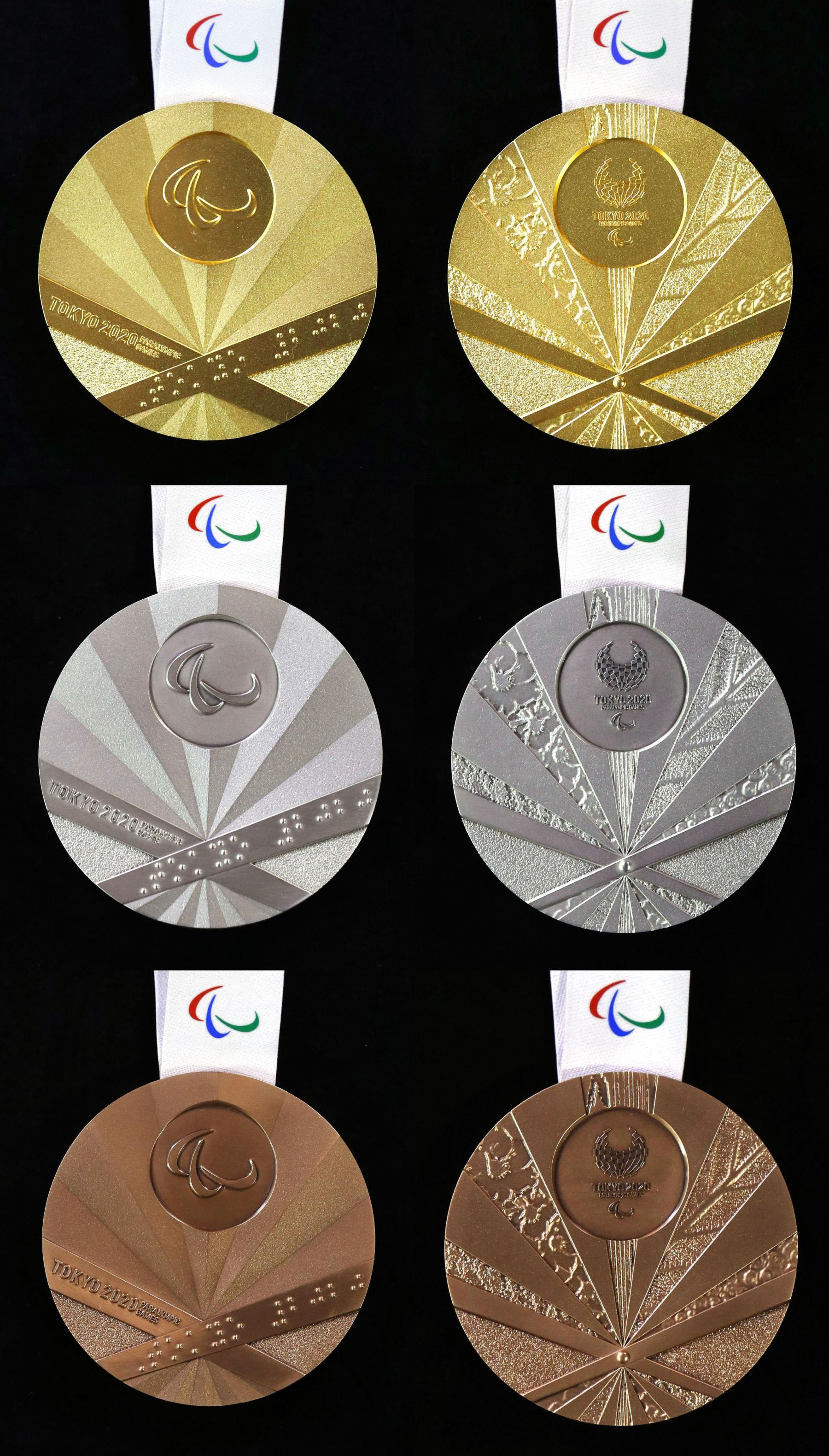 2020 Paralympic Games Medals Feature Japanese Folding Fan Designs 009