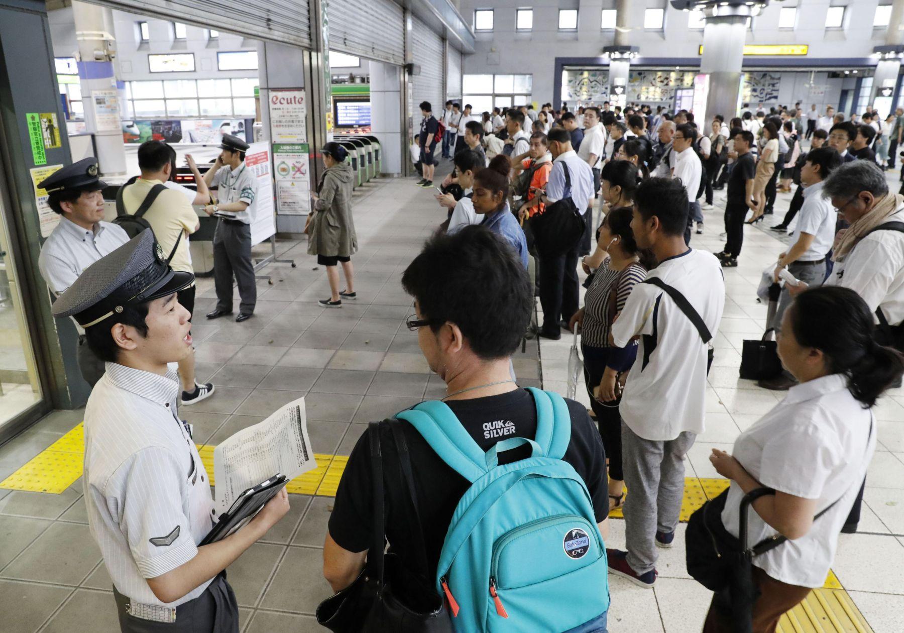 Japan Metro Tokyo Aftermath of Typhoon Faxai 027