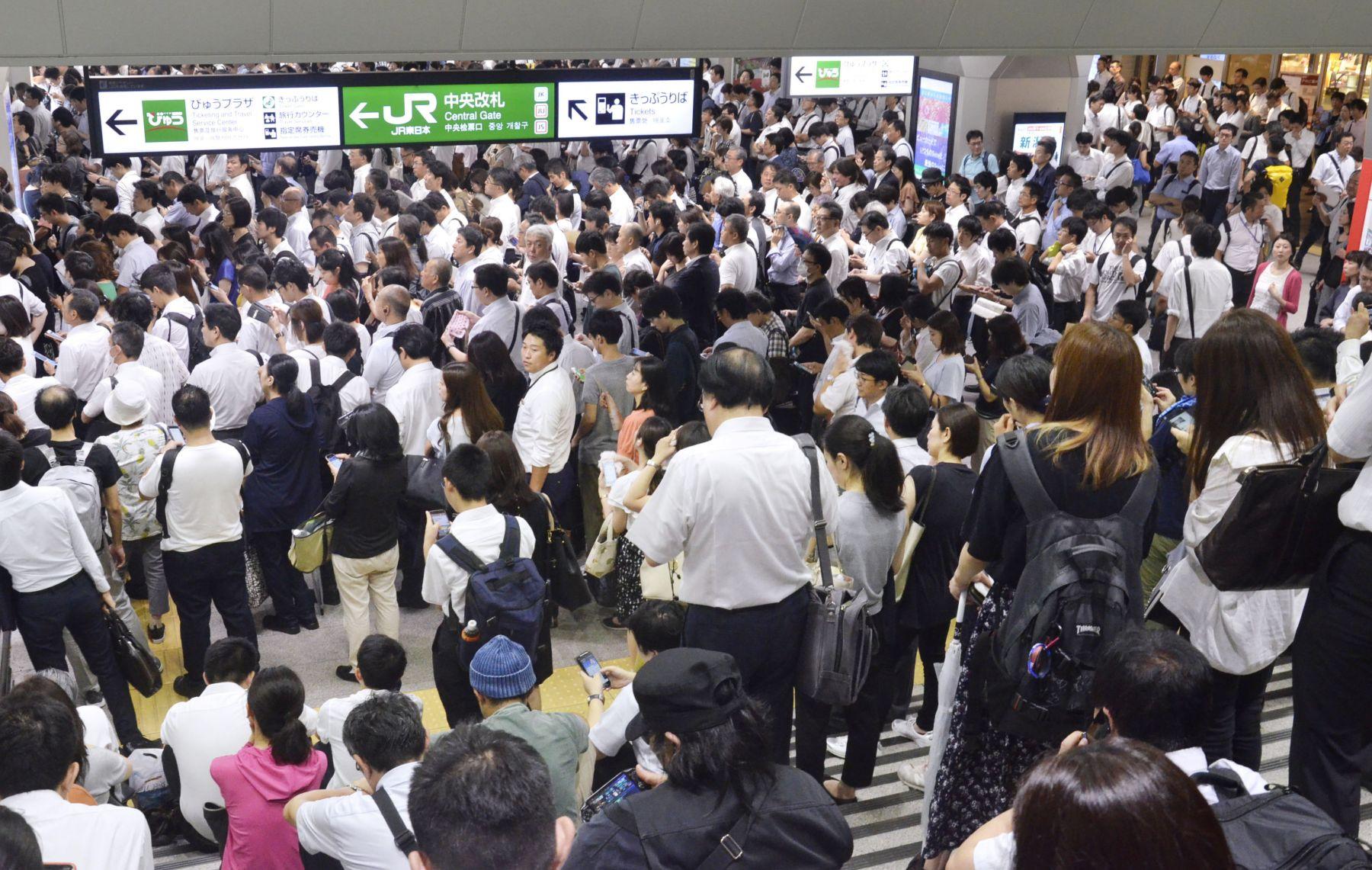 Japan Metro Tokyo Aftermath of Typhoon Faxai 029