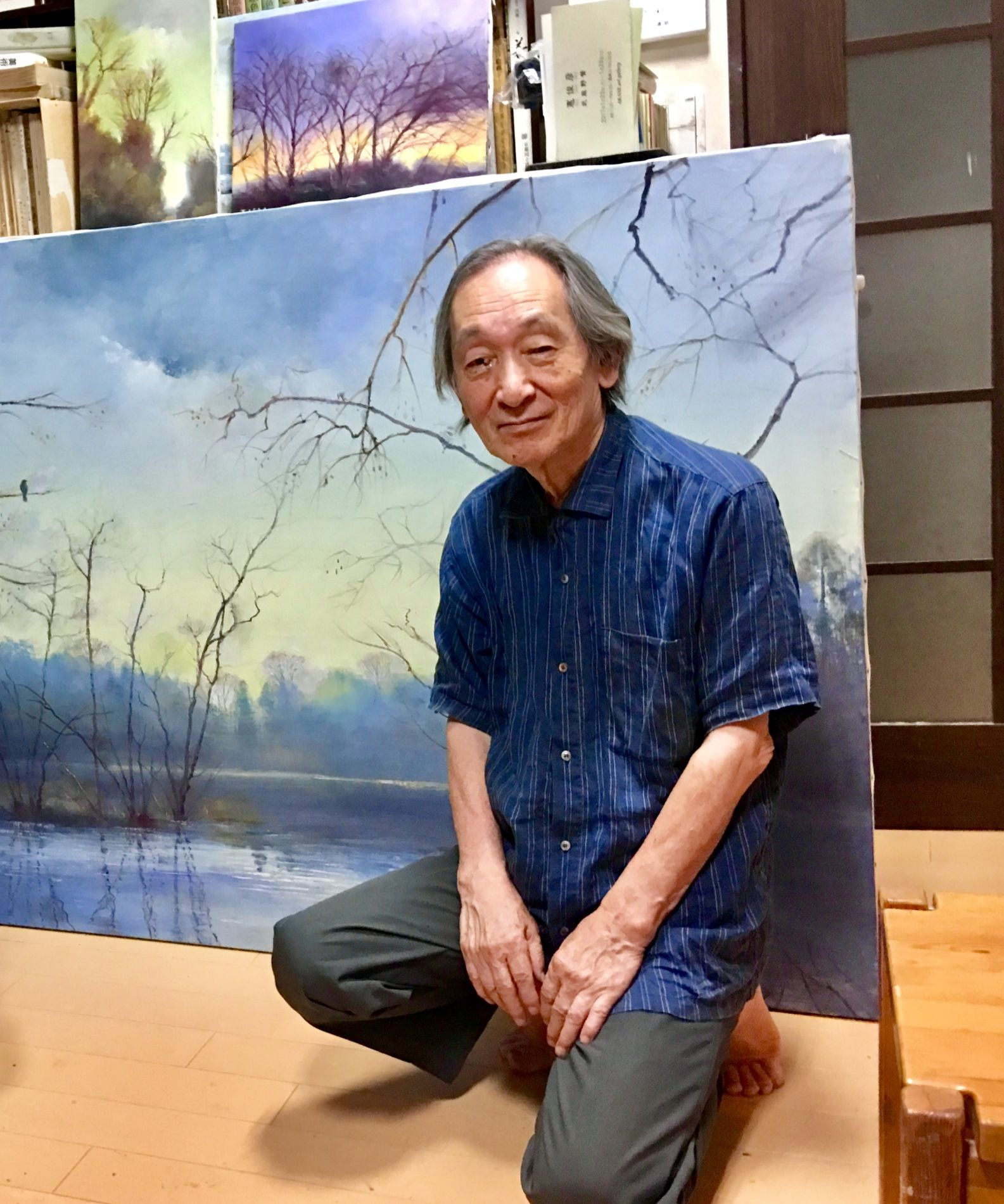 A Visit to the Atelier _ Memories of Musashino Tokyo Toshihiko Isao 003