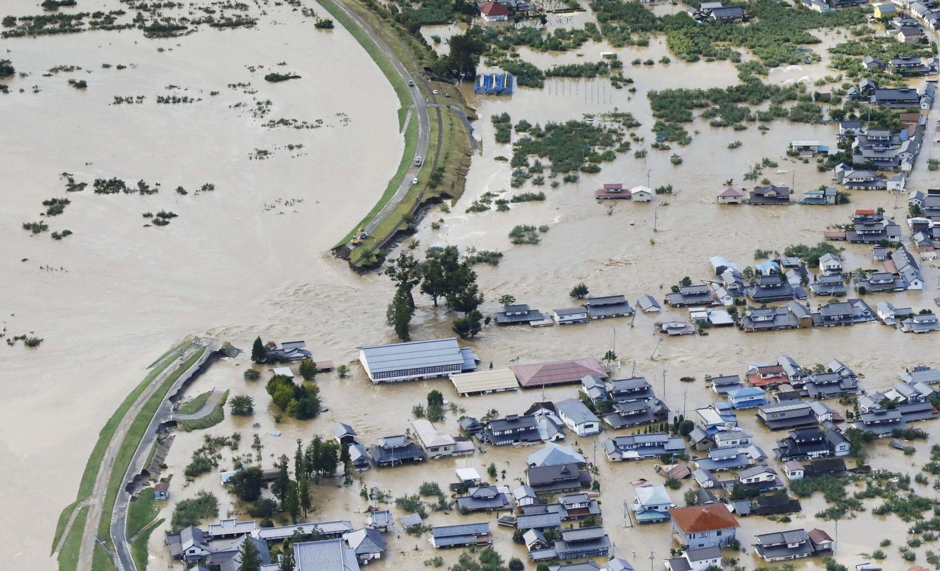Aftermath of Super Typhoon Hagibis in Japan 004