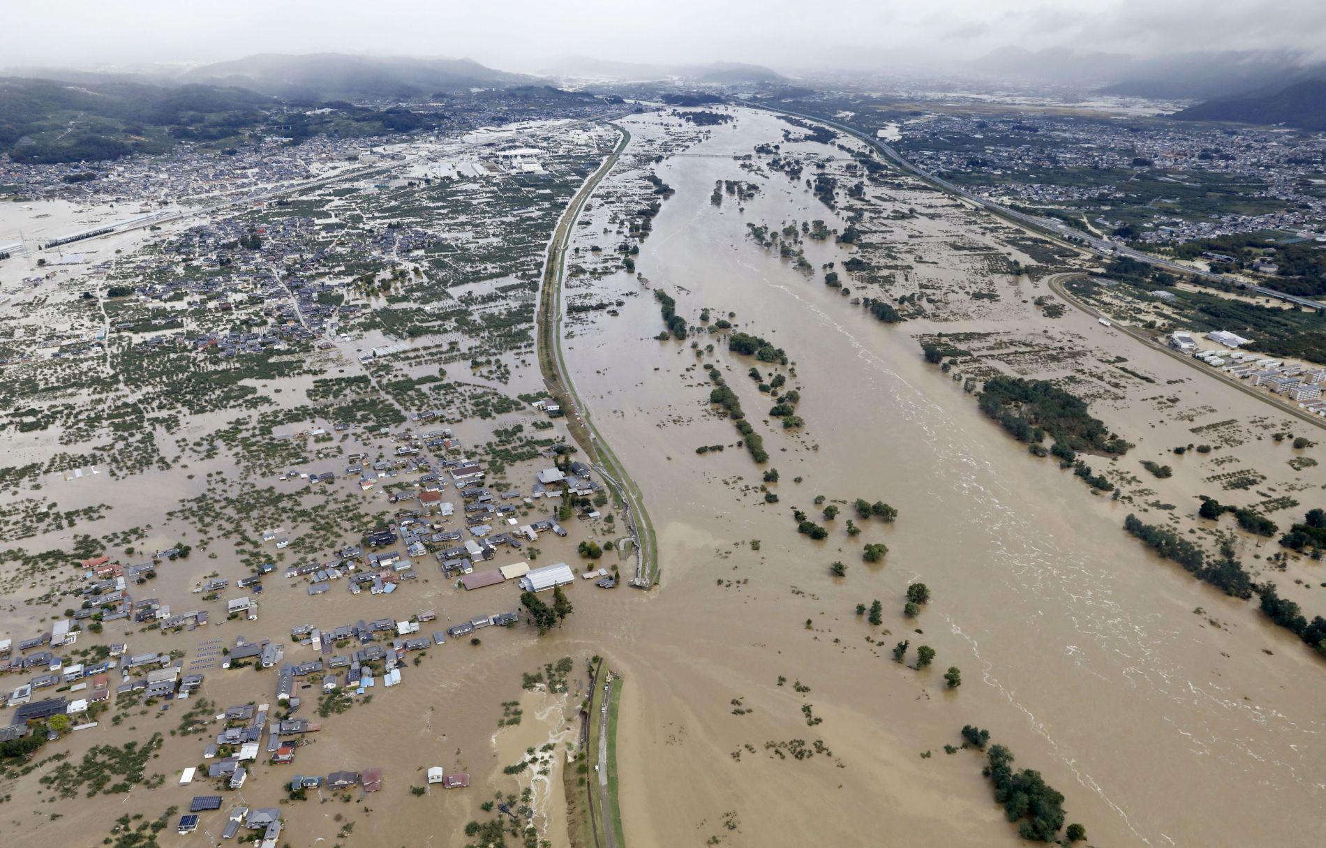 Aftermath of Super Typhoon Hagibis in Japan 008