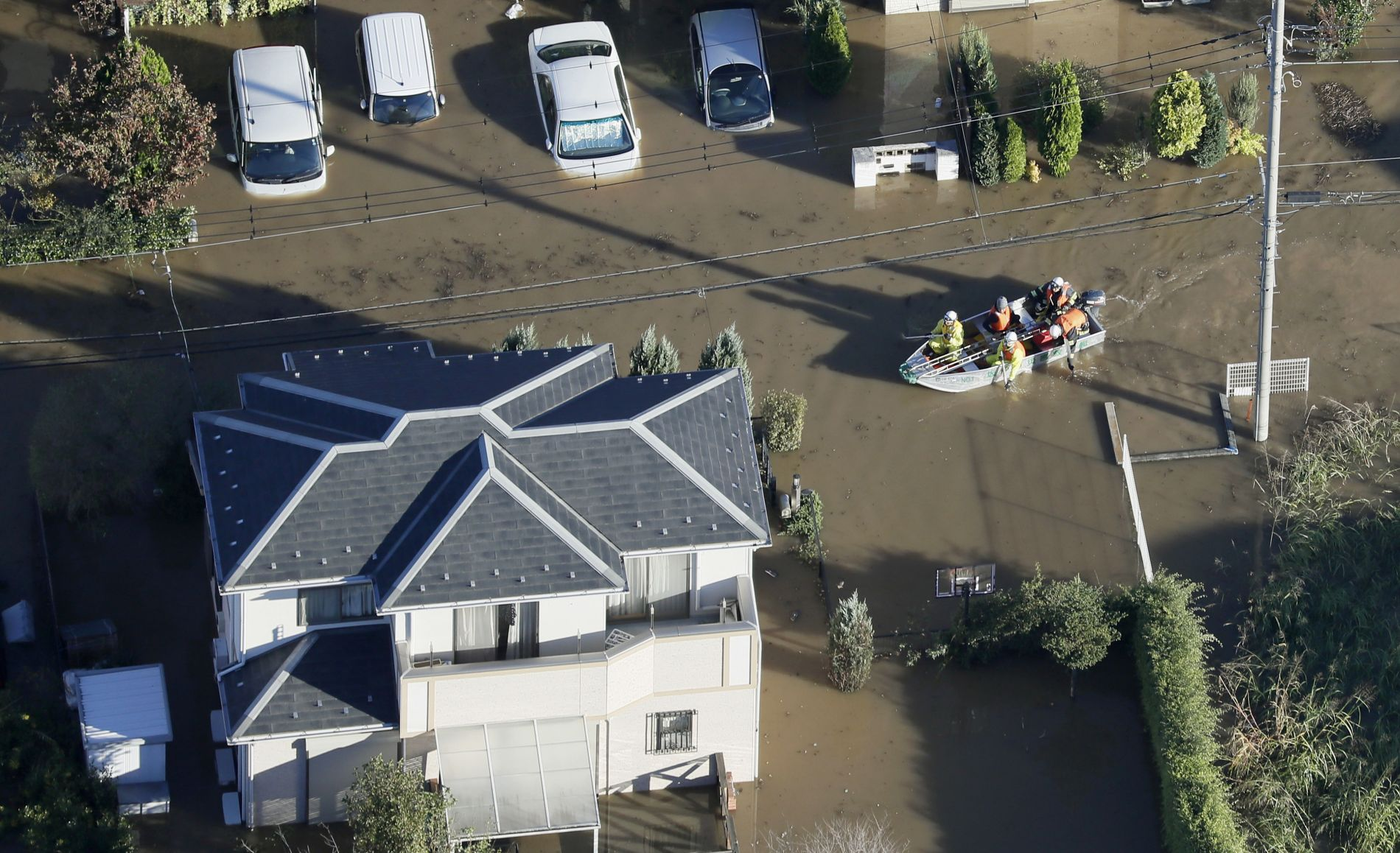 Aftermath of Super Typhoon Hagibis in Japan 010