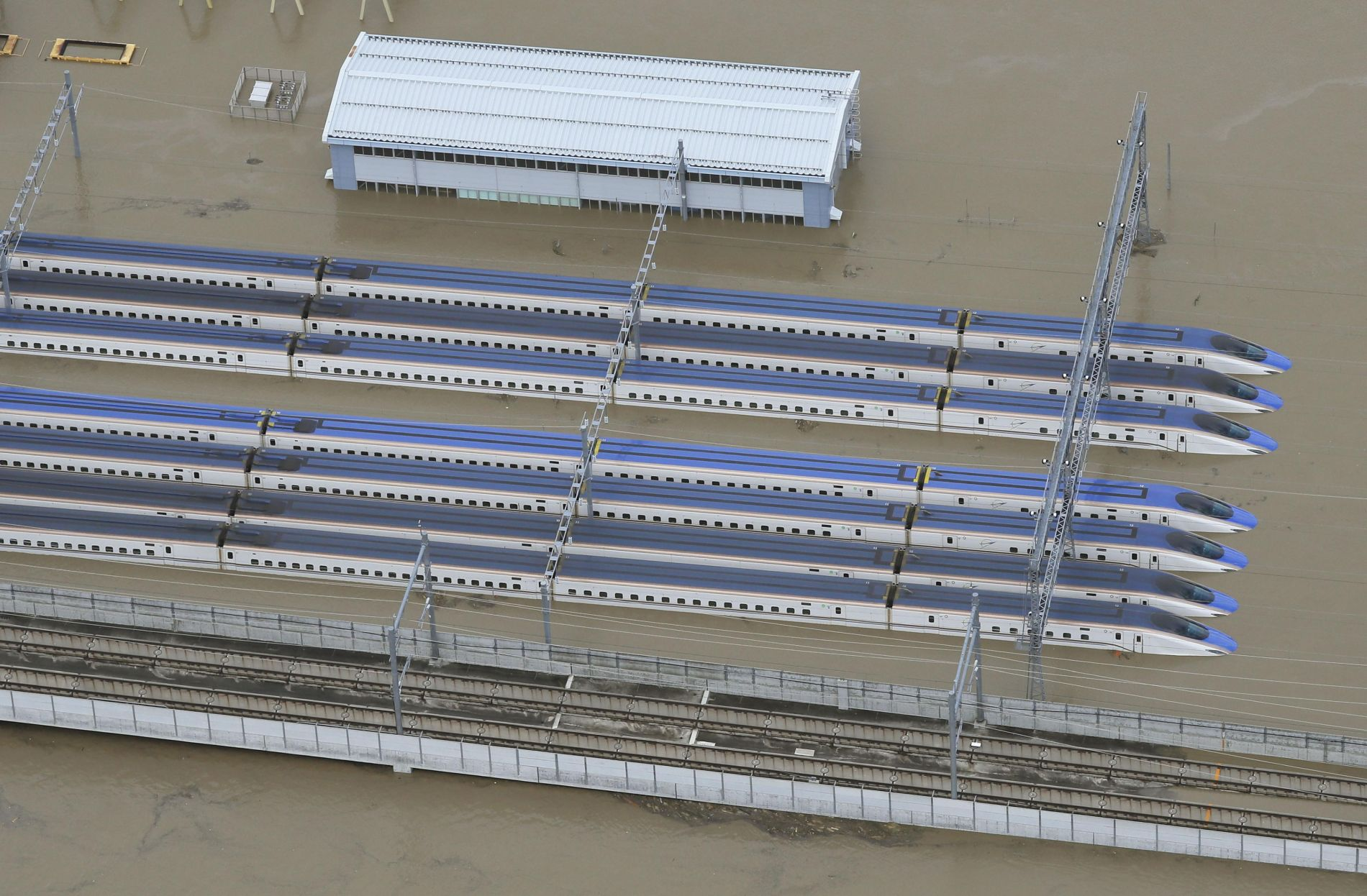Aftermath of Super Typhoon Hagibis in Japan 017